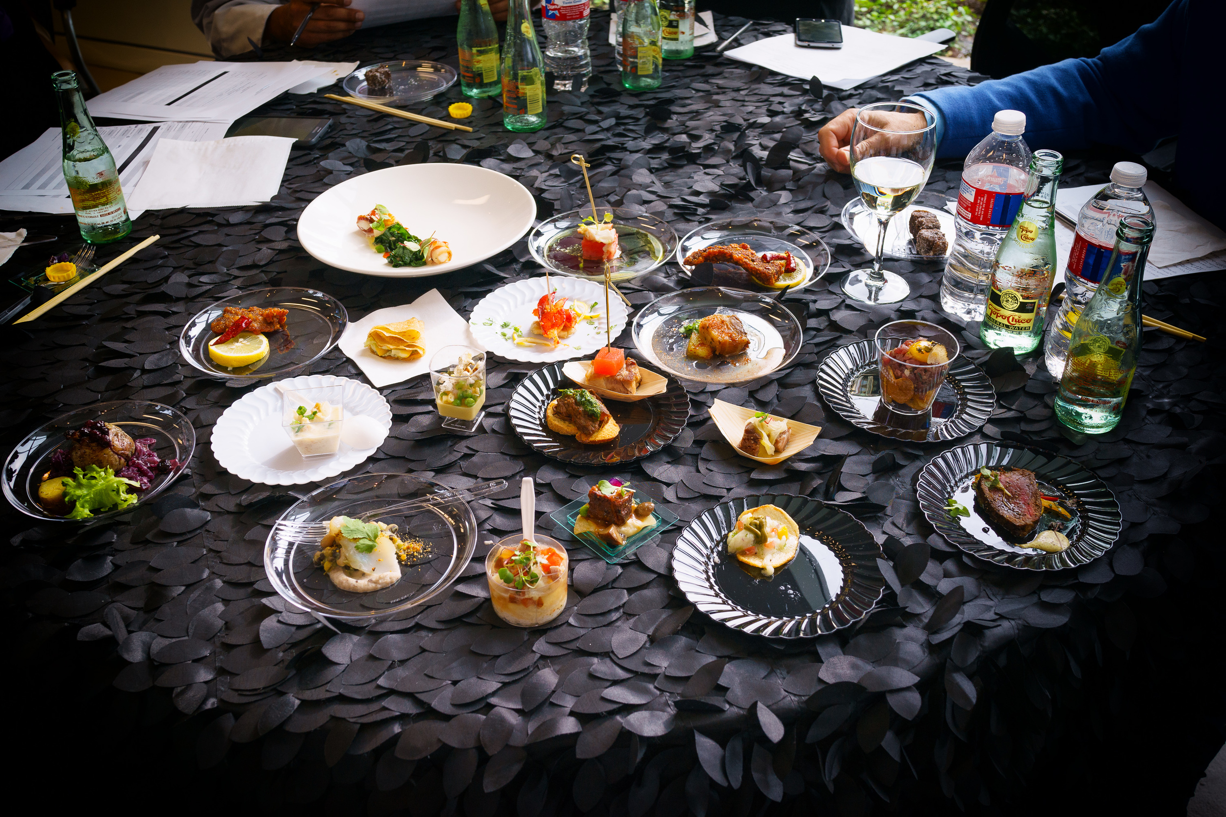 All 20 dishes from 17 contestants