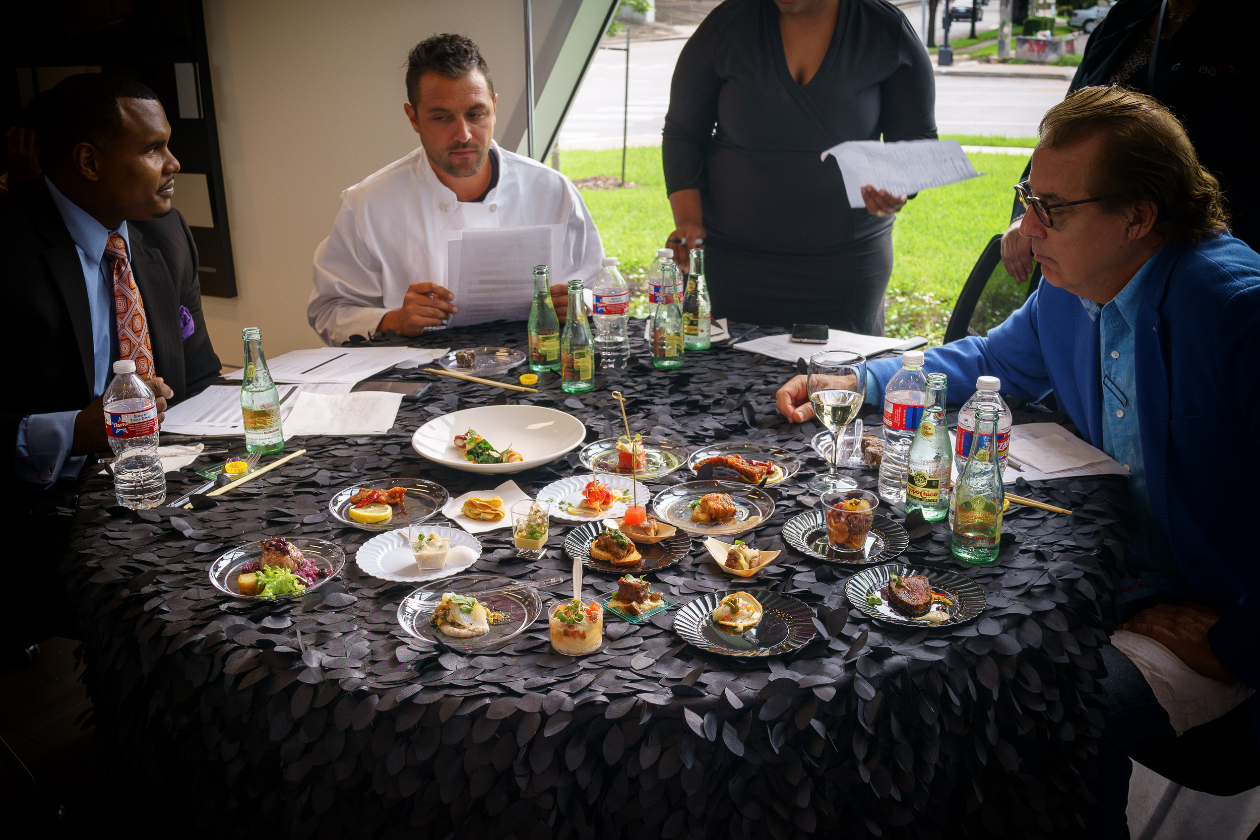 The Judges Table