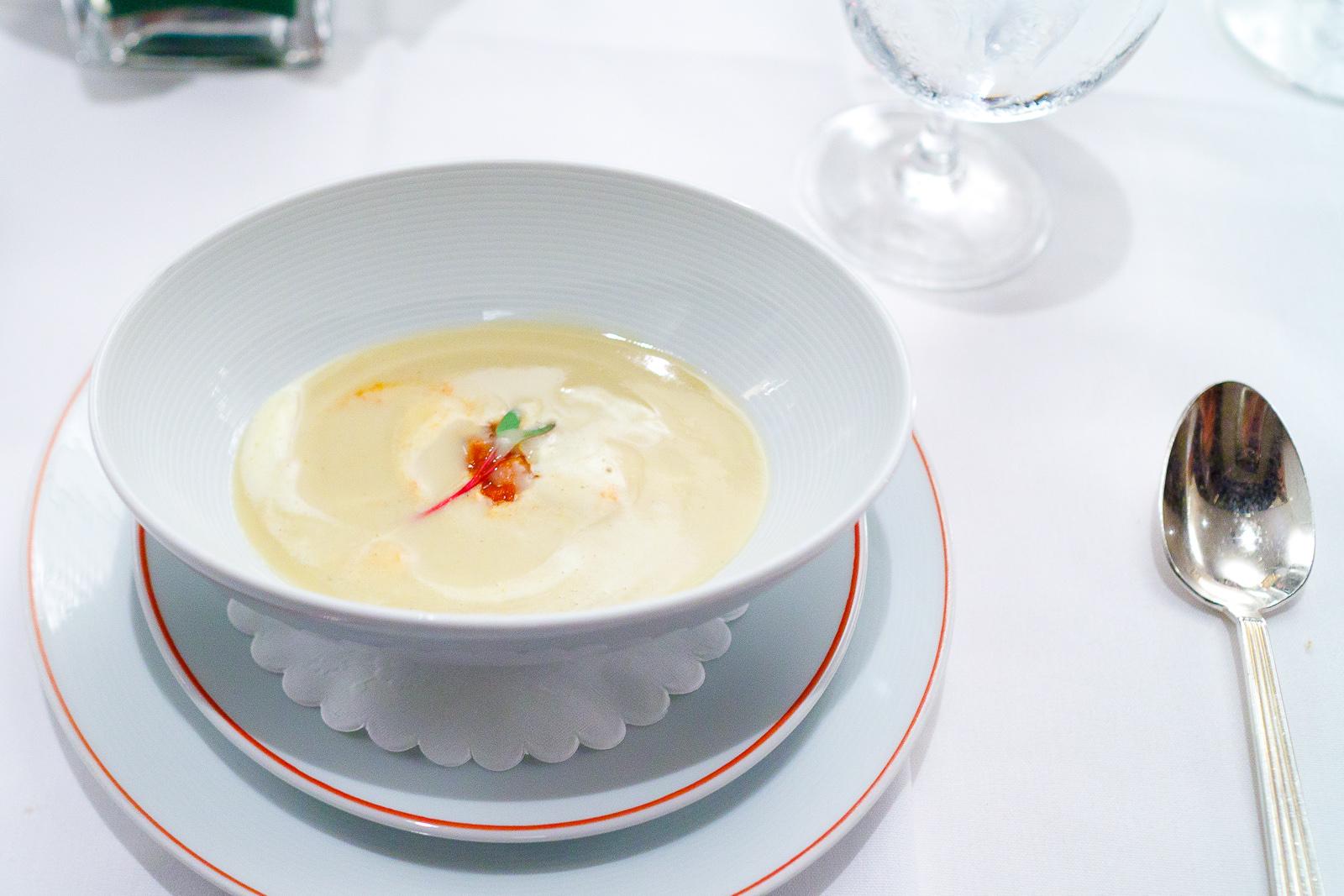 3rd Course_ Lentil soup, curry, rabbit, cauliflower.jpg