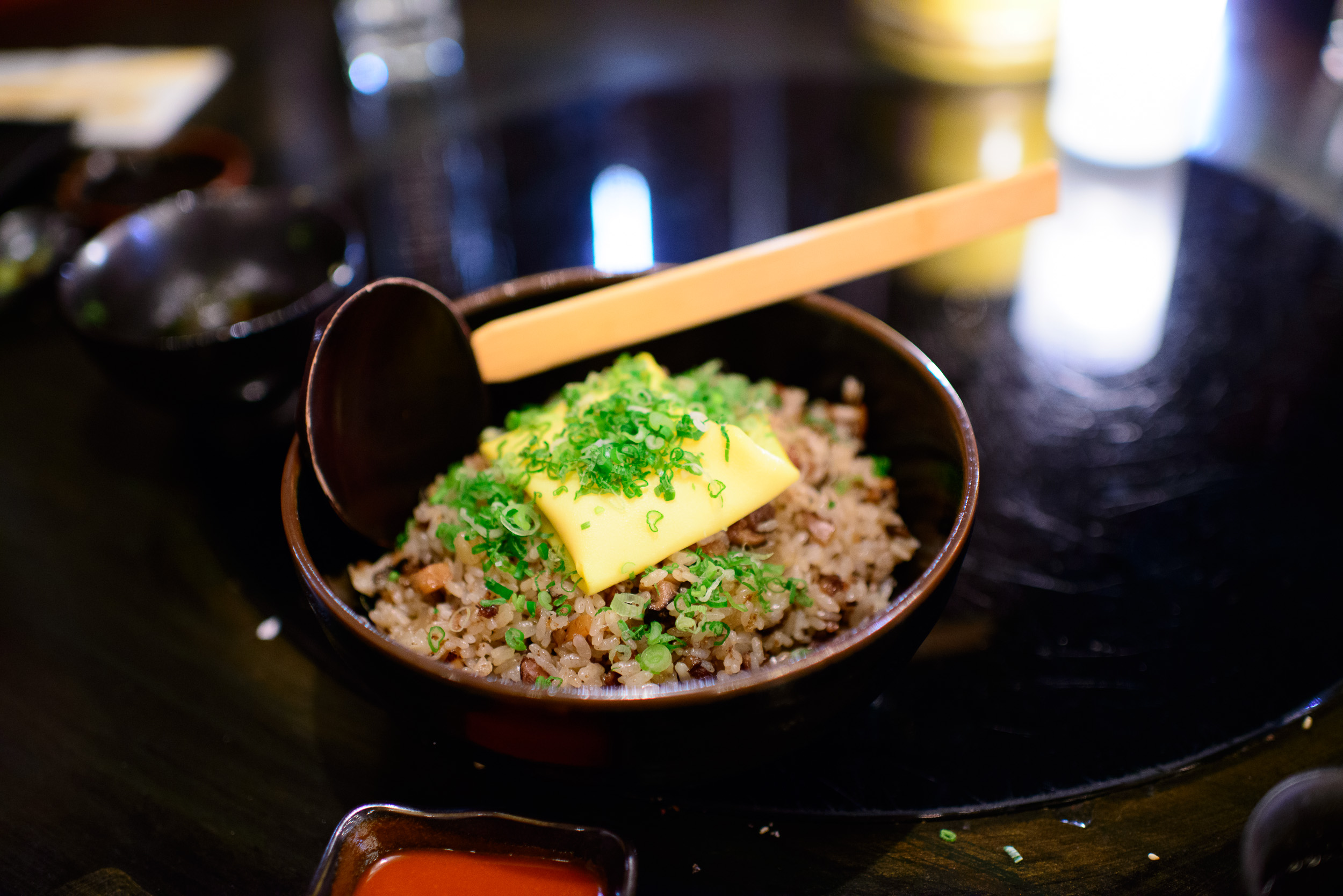 Bone marrow and oxtail fried rice