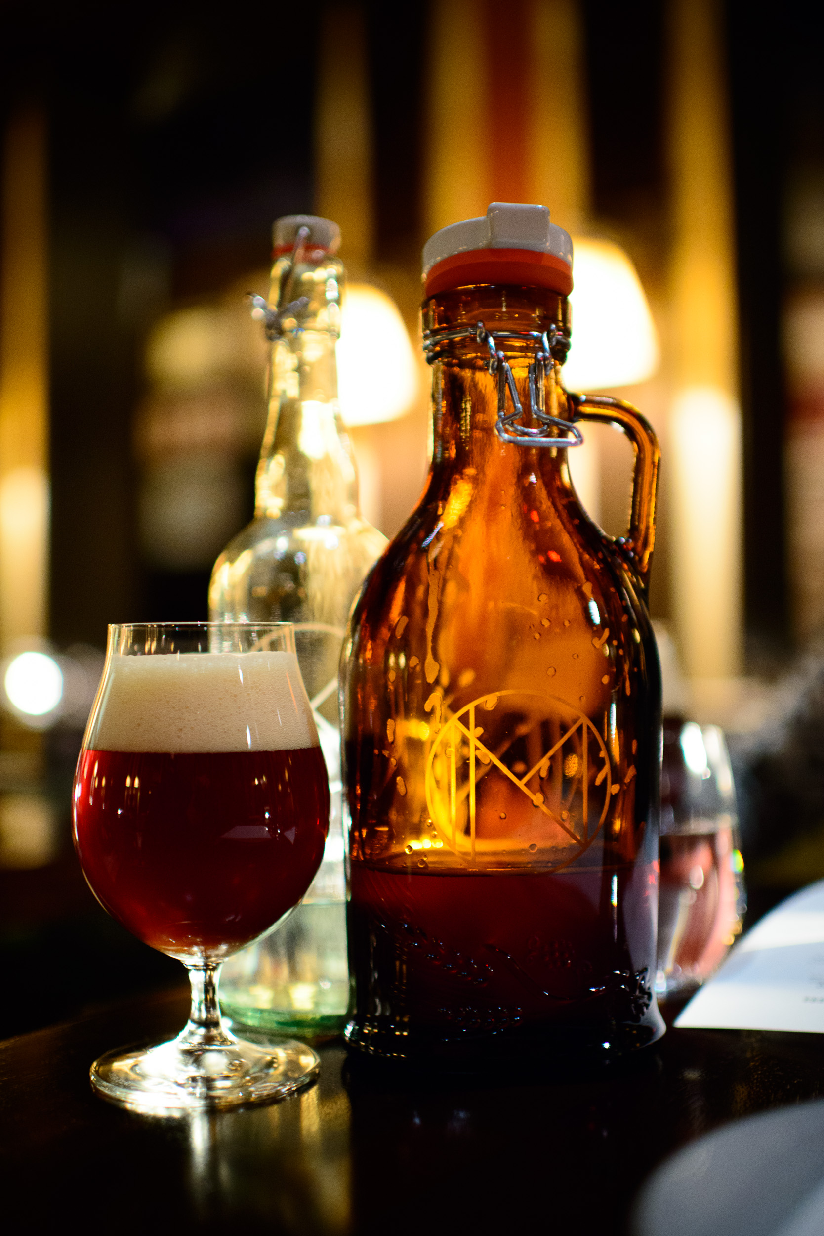 Le Poulet: Brooklyn Brewery's Brown Ale ($18 / L)