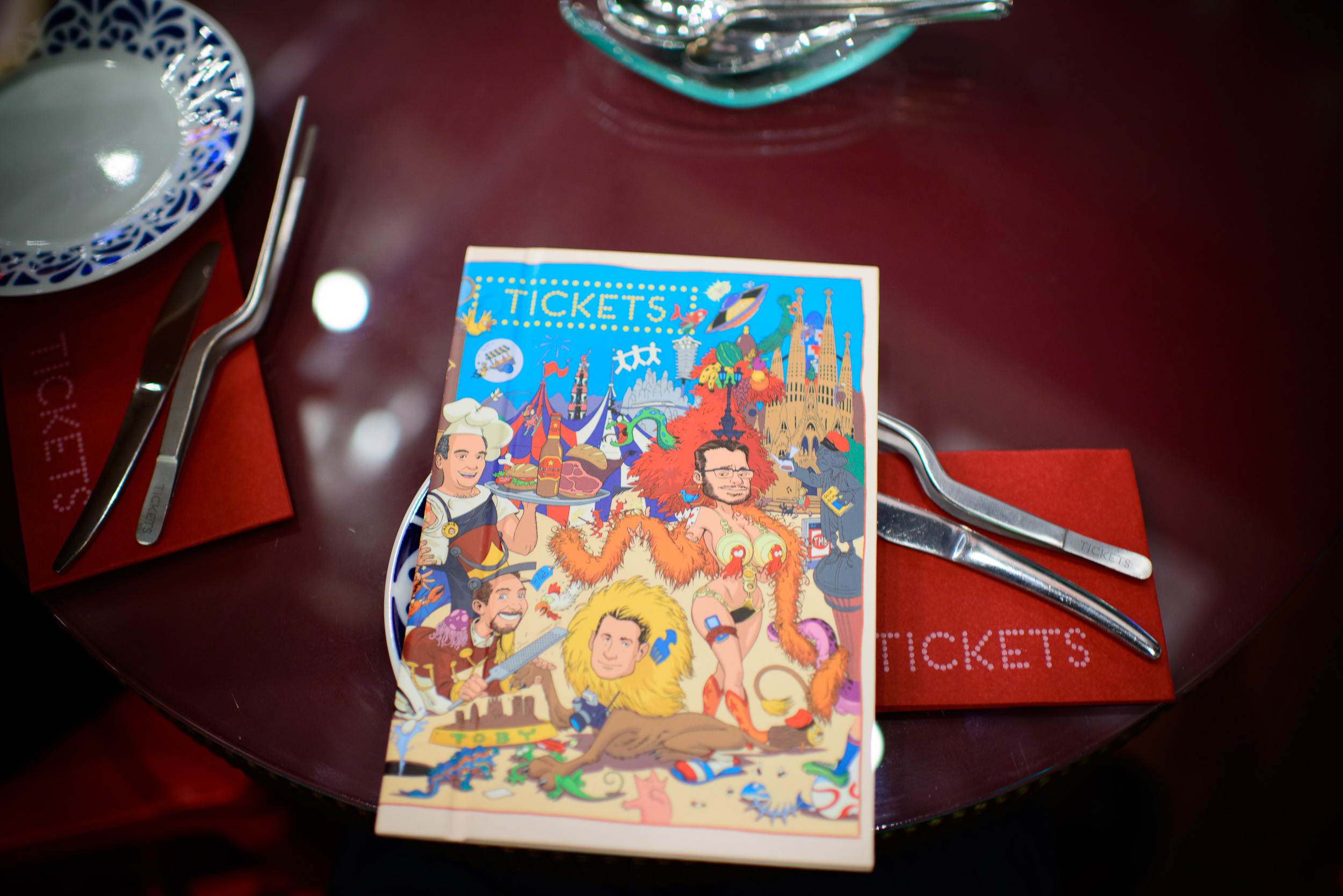 Tickets Menu