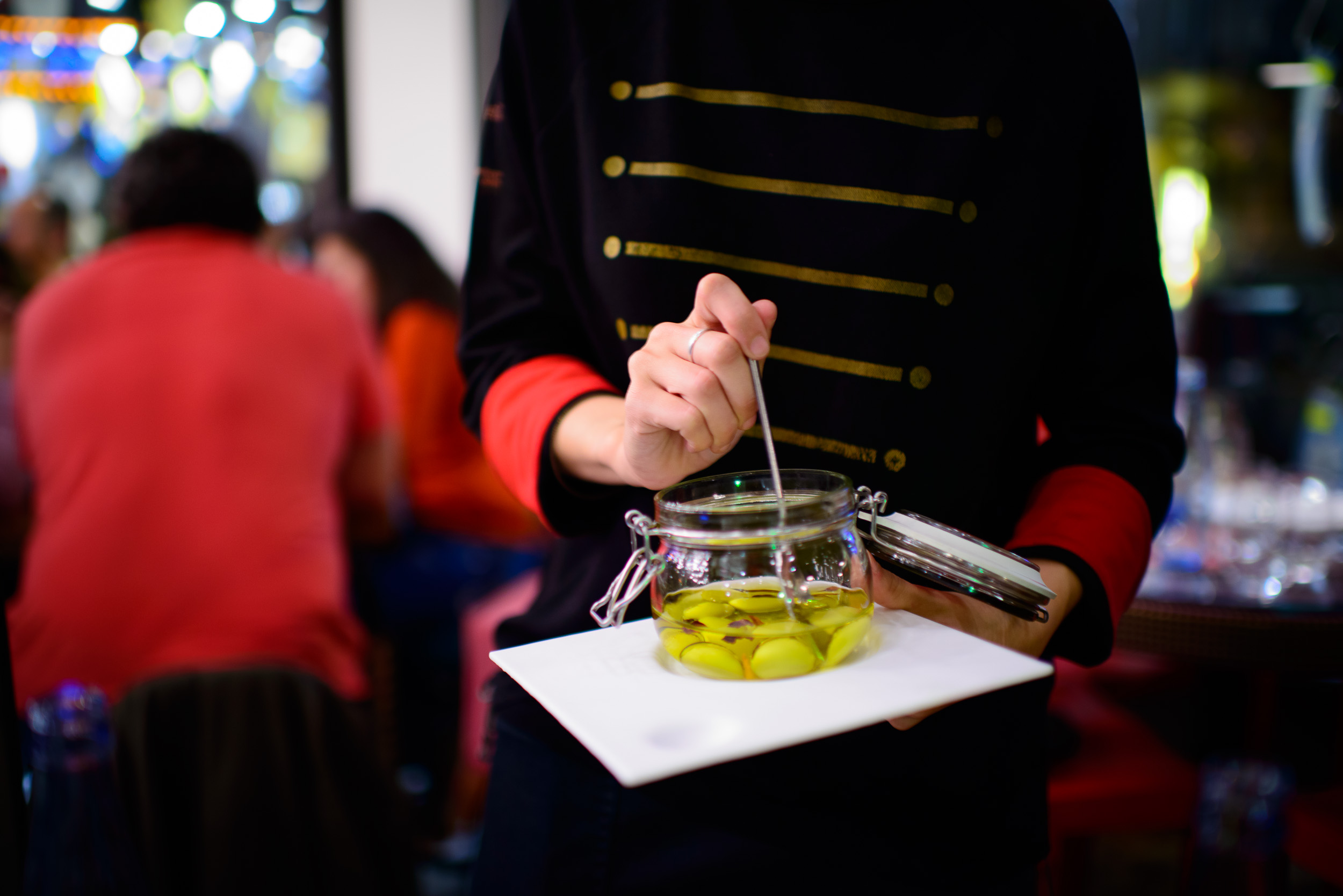 1st Course: Aceitunas Tickets