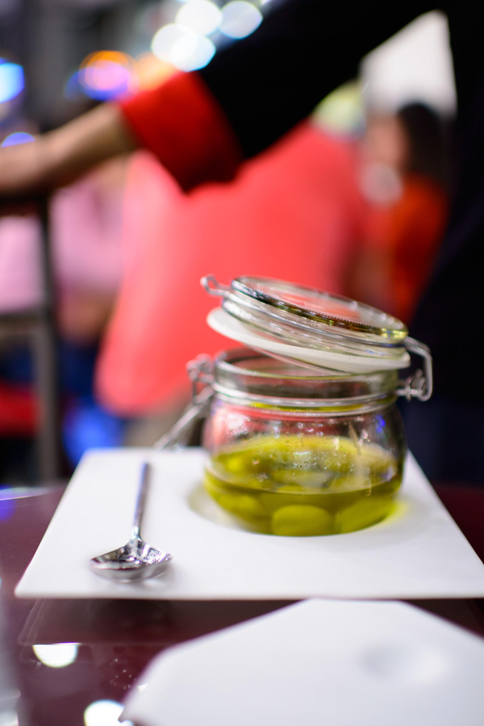 2nd Course: Las olivas de Tickets: gordal adobada
