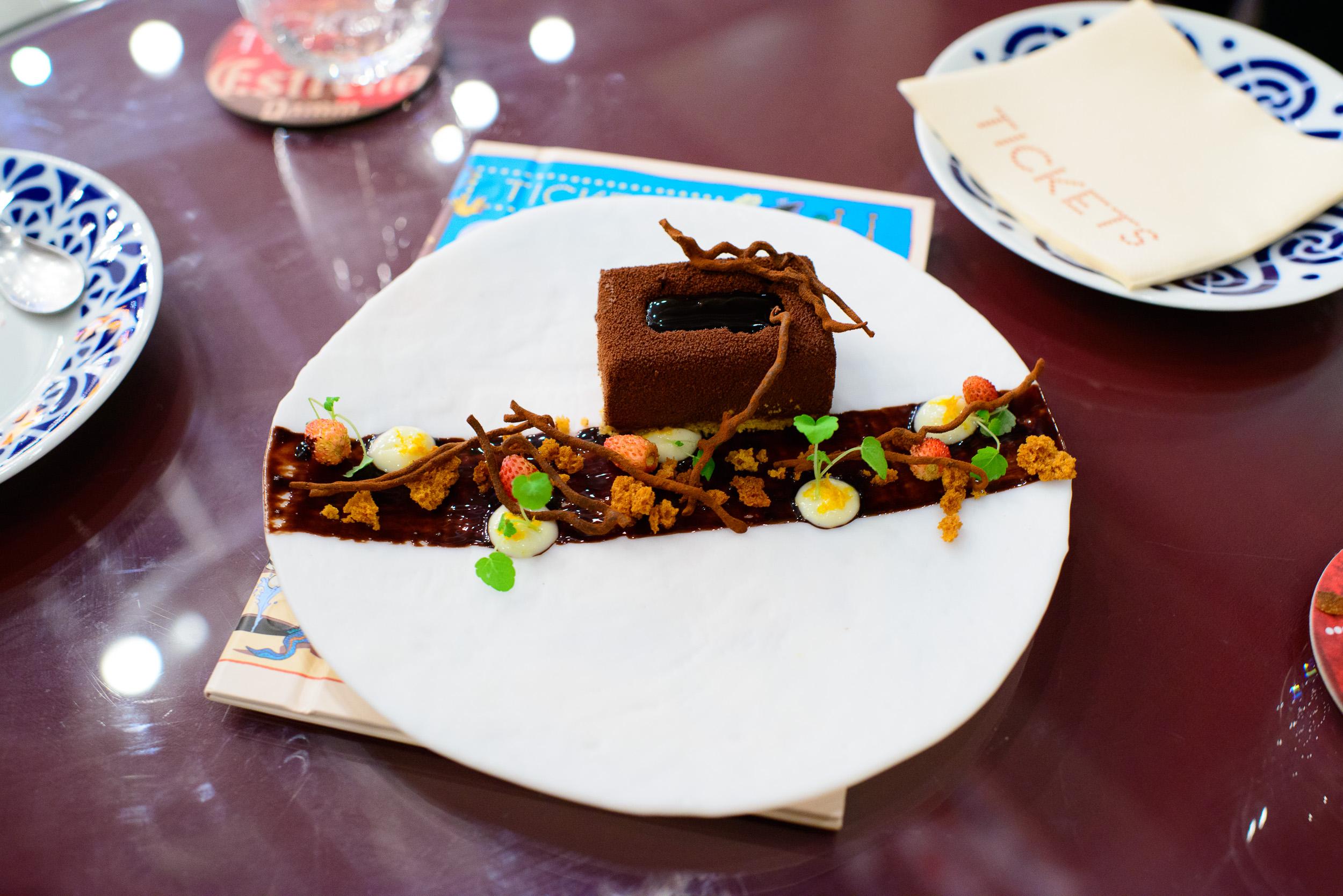 25th Course: Tarta de chocolate