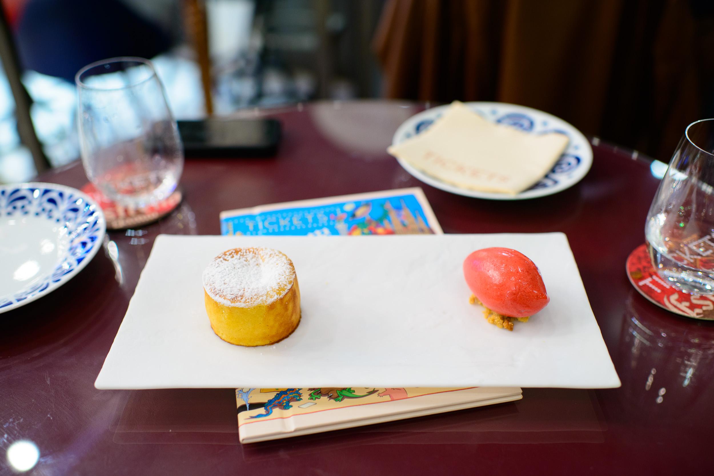 26th Course: Pastel tibio de almendra
