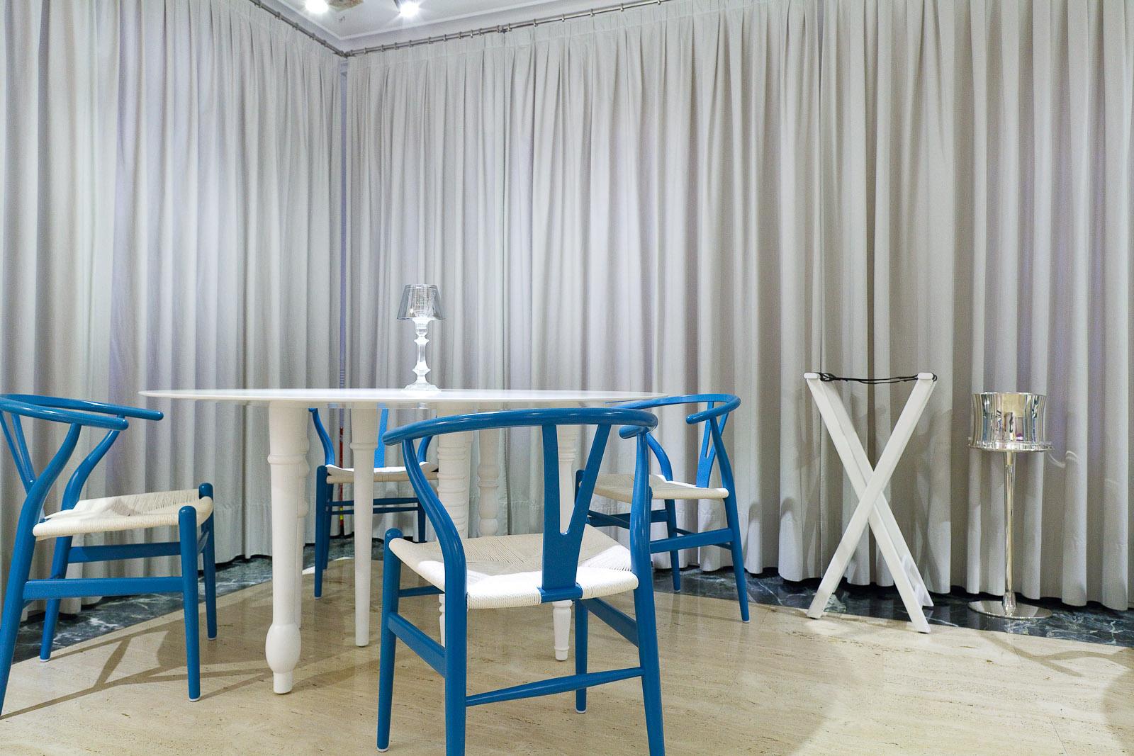 The minimalist dining room