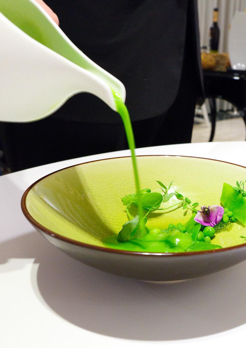6th Course: Peas