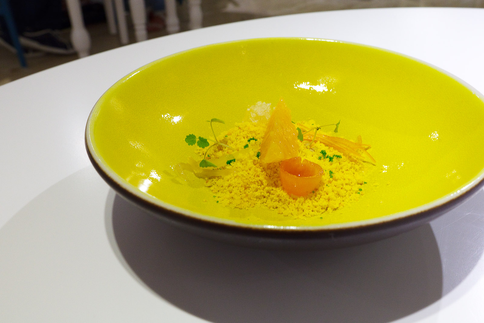 11th Course: Field of citrus fruits