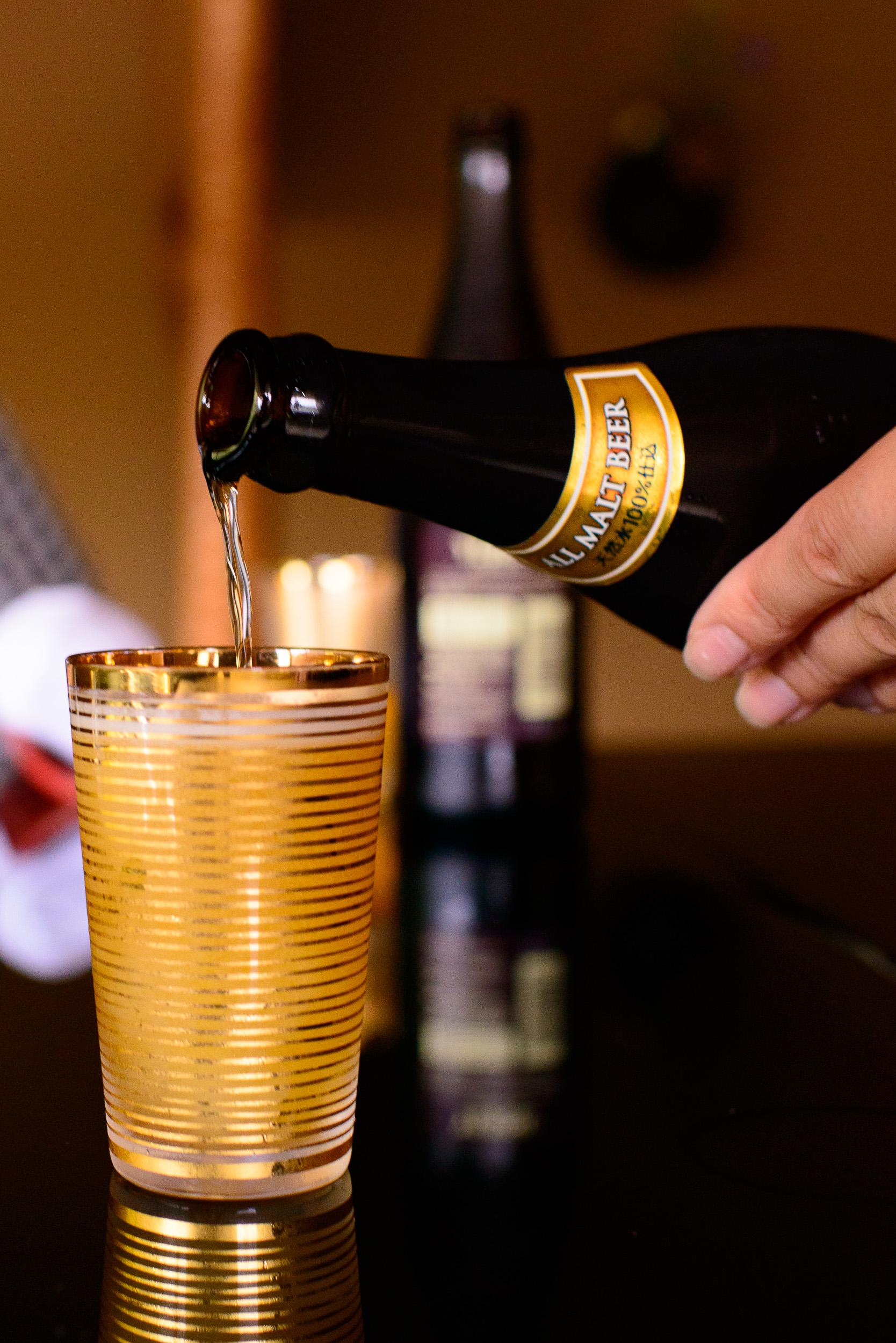Suntory malt beer