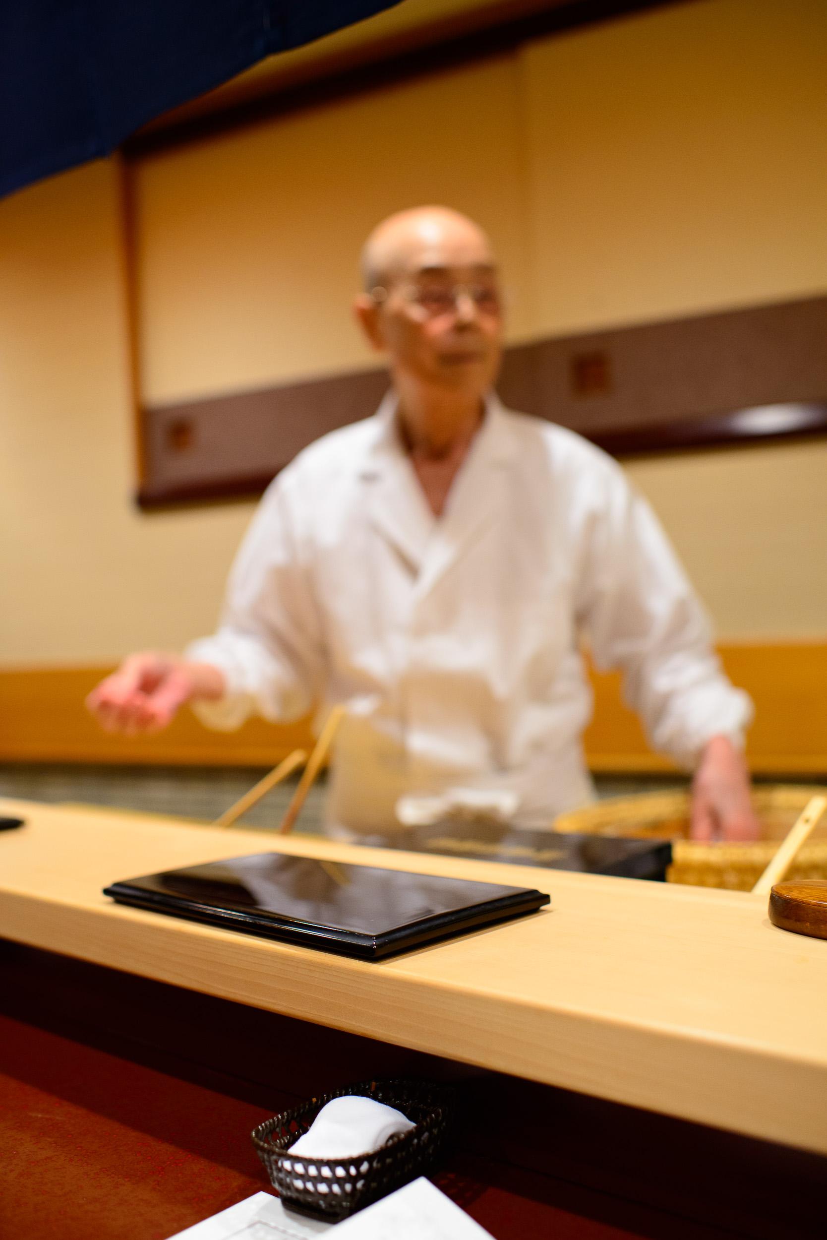 Chef Jiro Ono