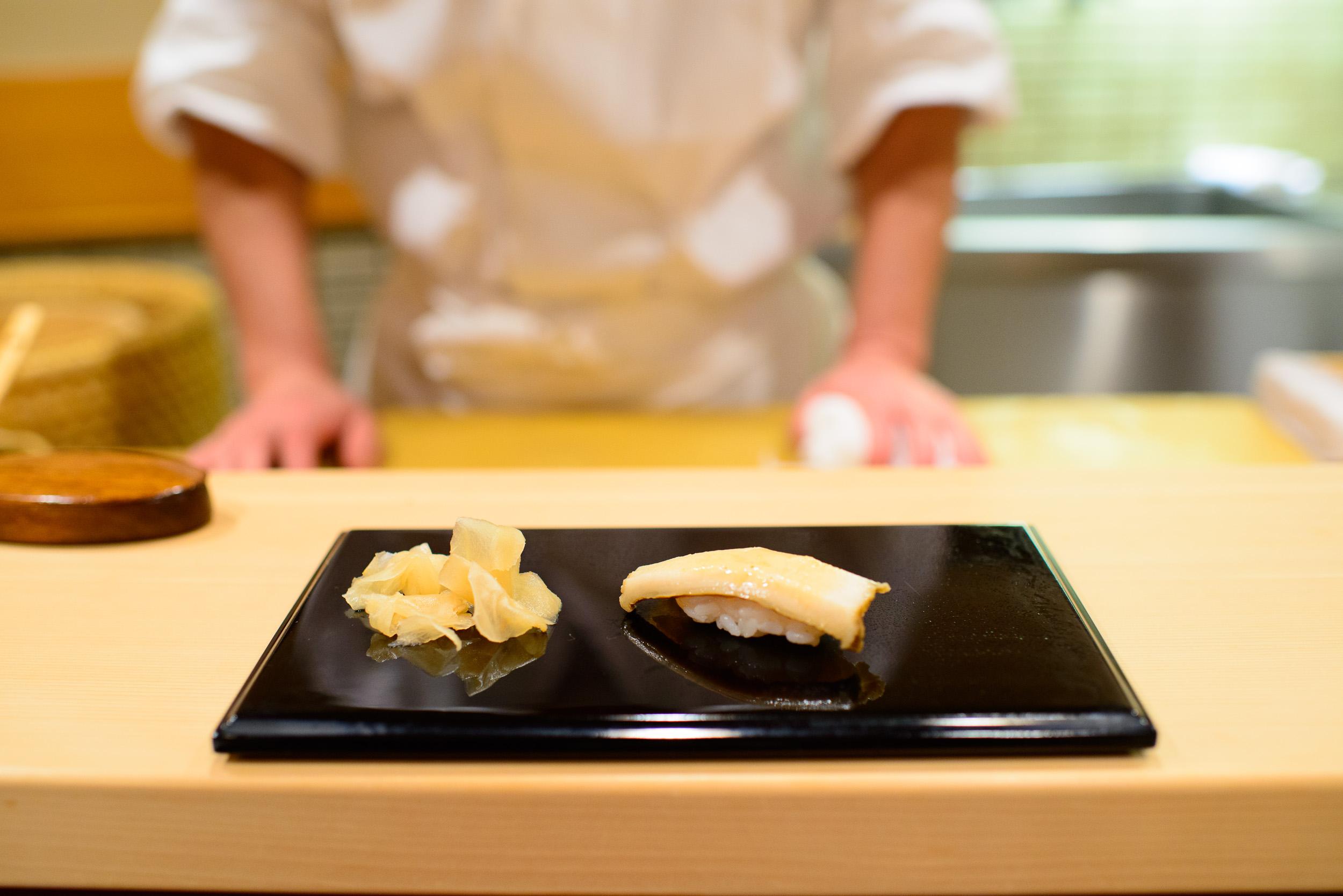 8th Course: Mushi-awabi