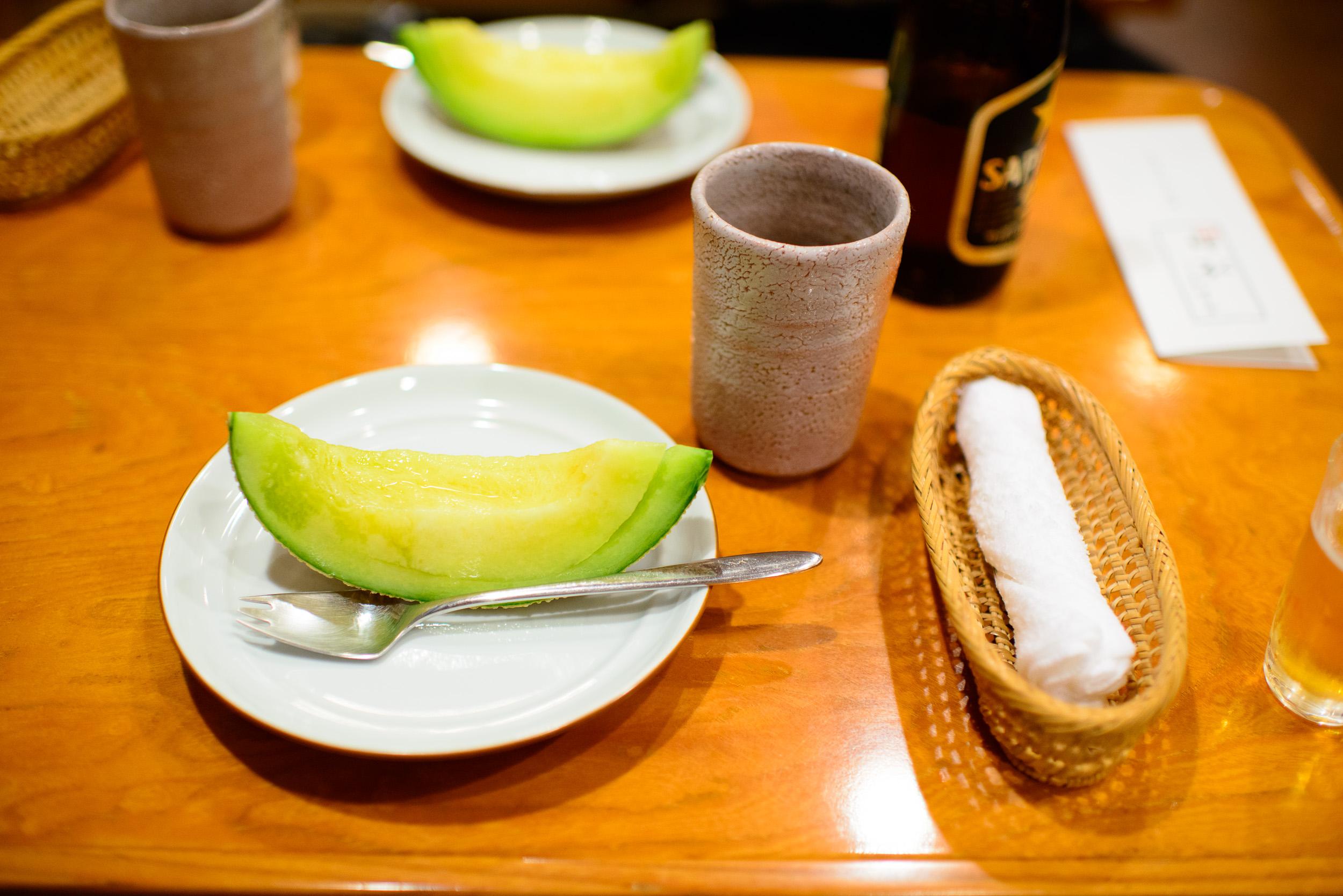 21st Course: Musk melon