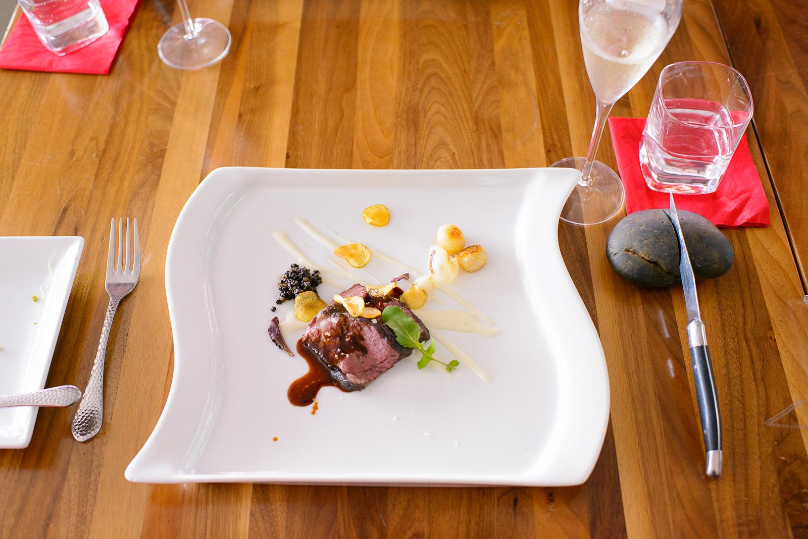 5th Course: Tablita (Rancho 17 Sonora México) - cocinada al alt