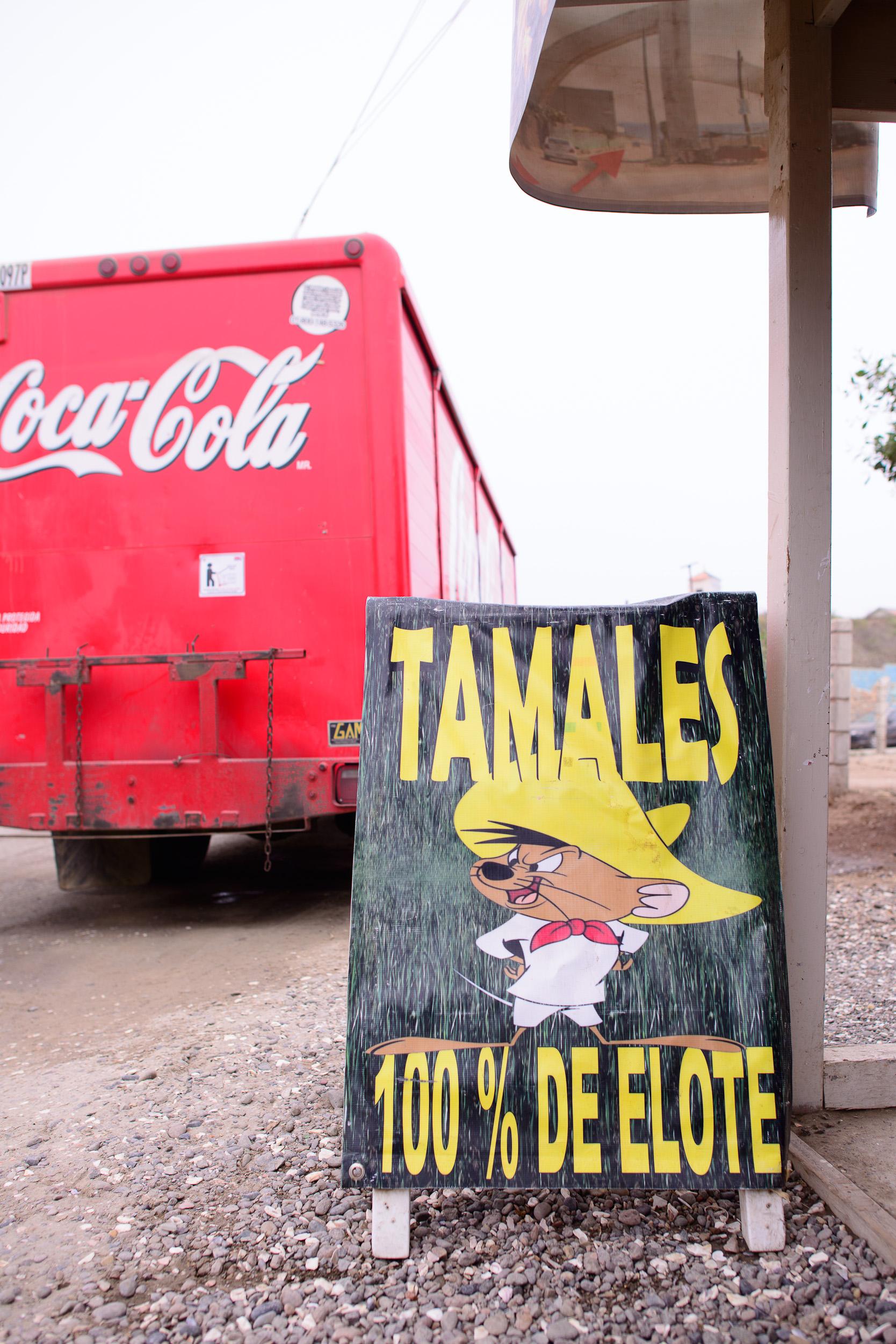 Tamales 100% de elote