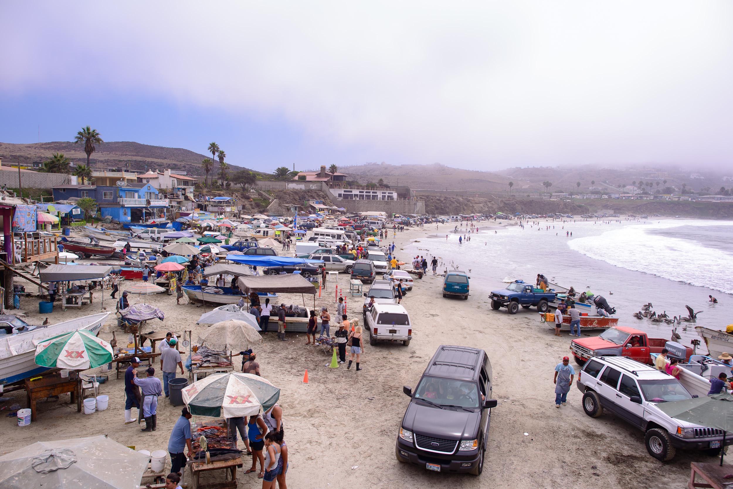Popotla beach
