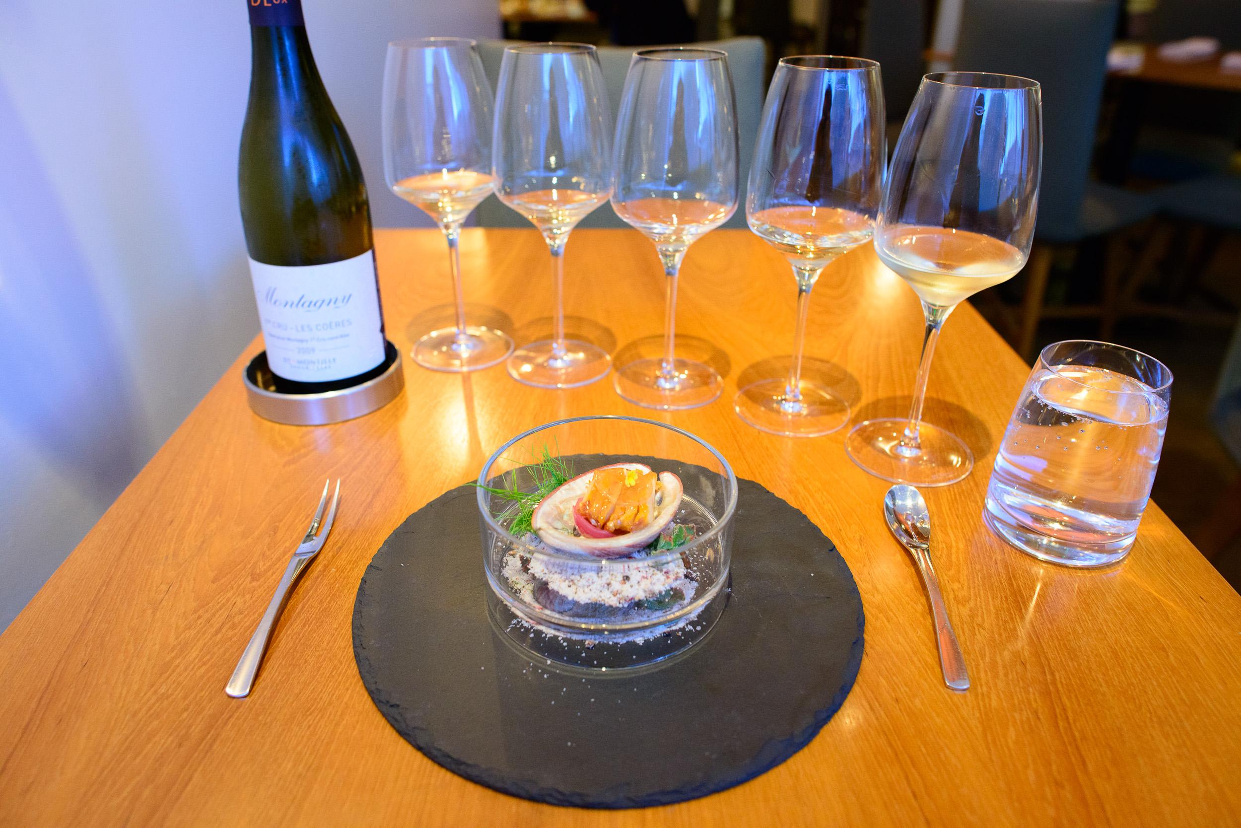 7th Course: Abalone, Allium, Dashi
