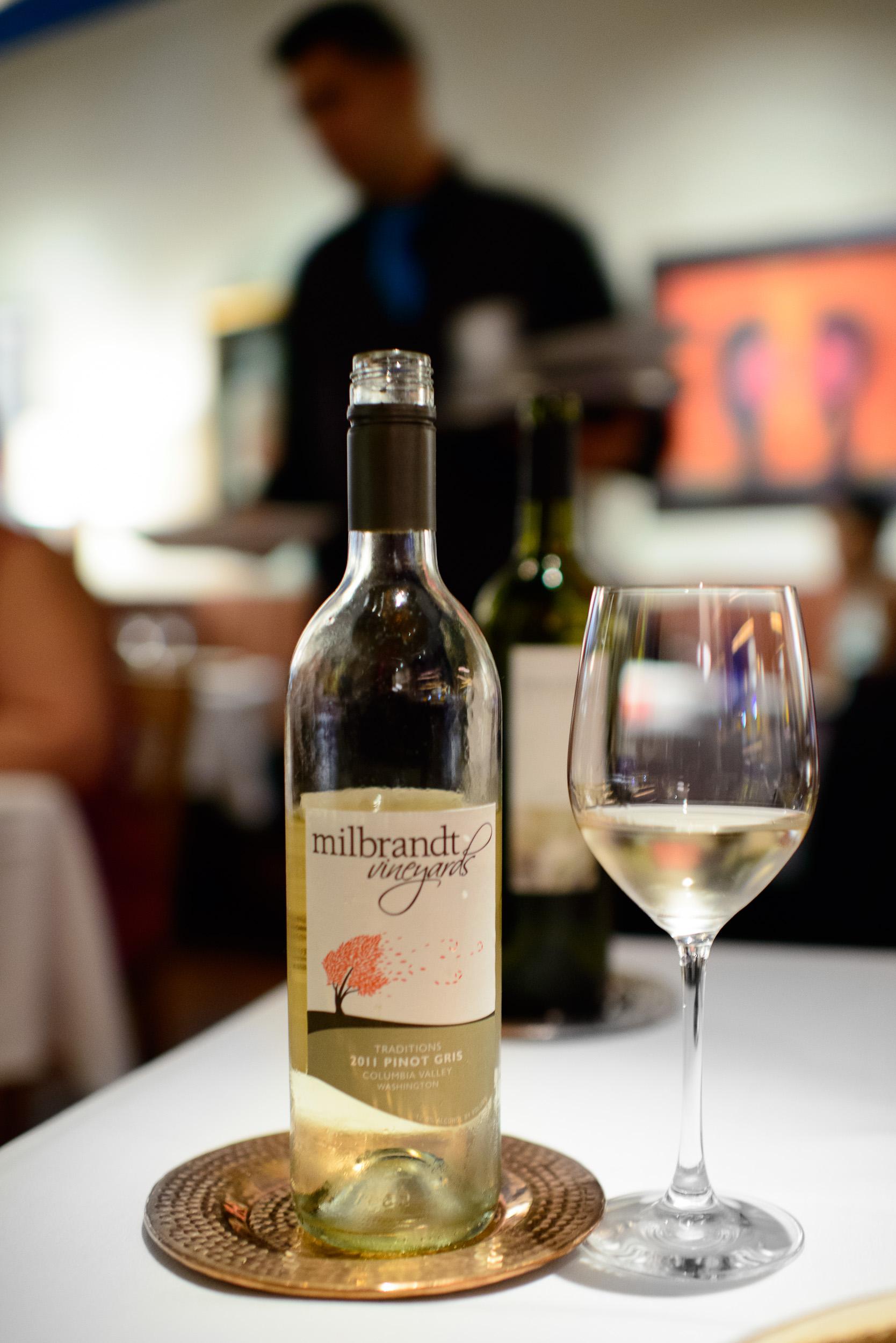 Milbrandt Vineyards Pinot Gris, 2011, Columbia Valley, Washingto