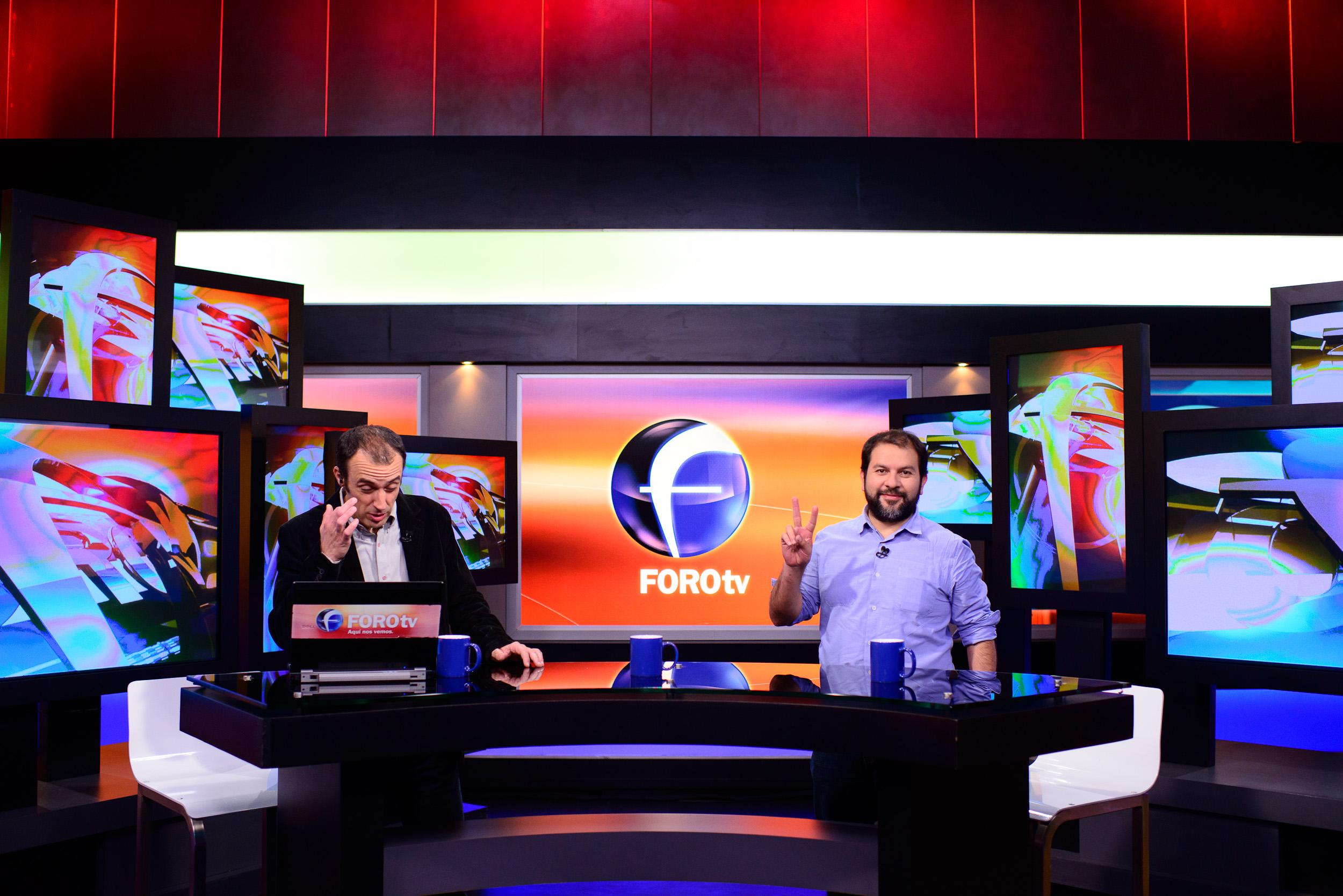 Enrique Olvera Televisa Interview with Julio Patan and Nicolas A
