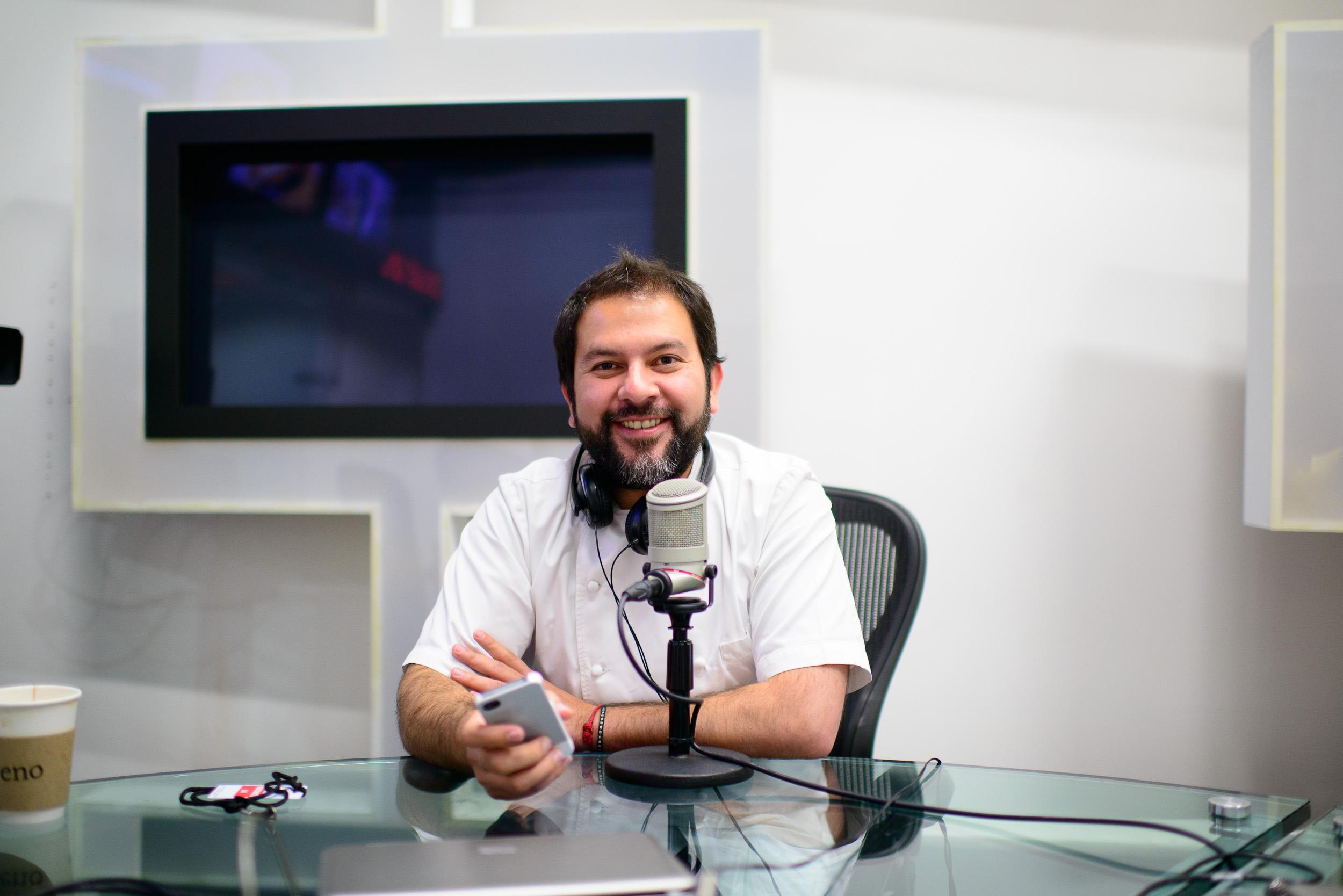Enrique Olvera Interview with Gloria Calzada