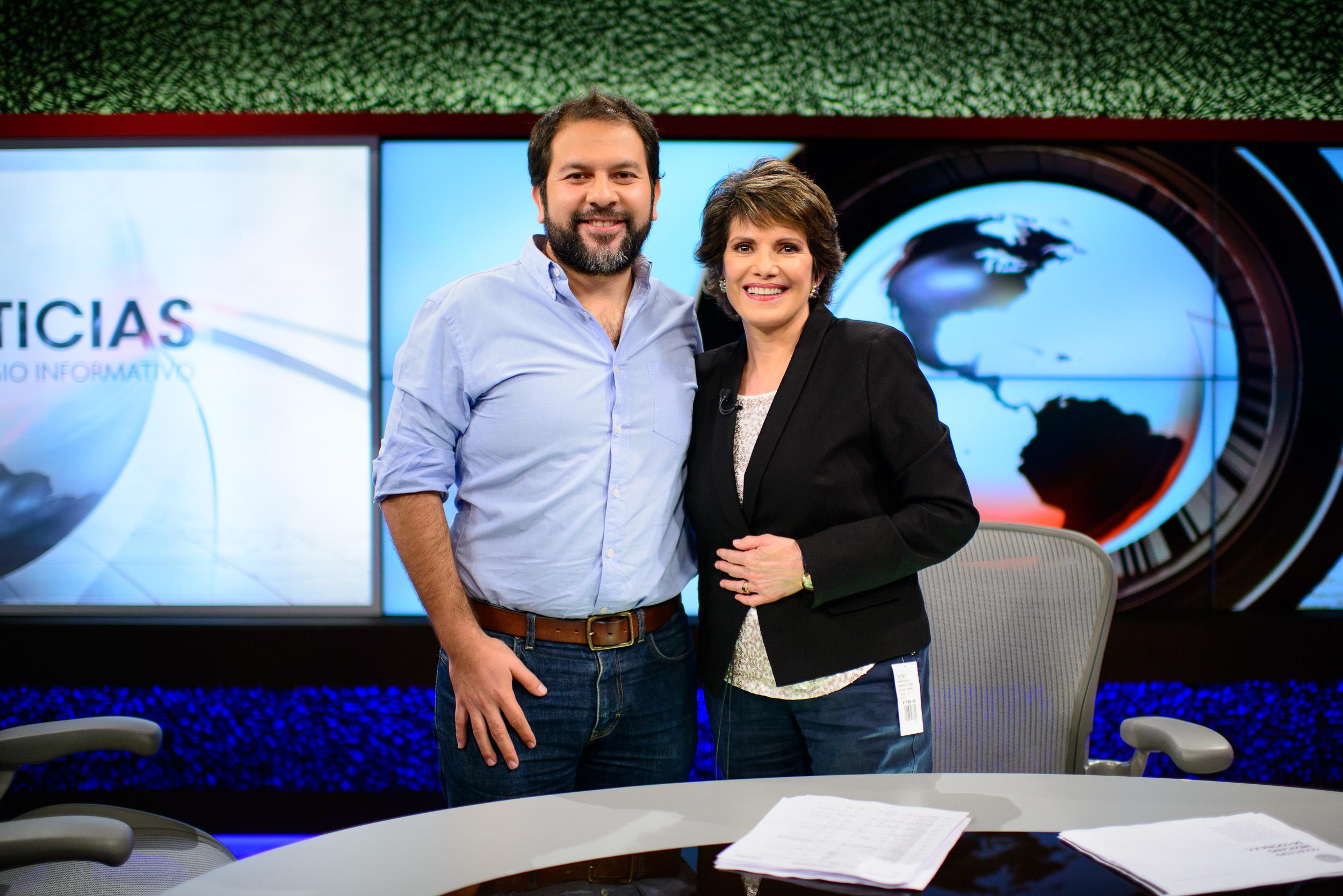 Enrique Olvera with Adriana Perez Cañedo
