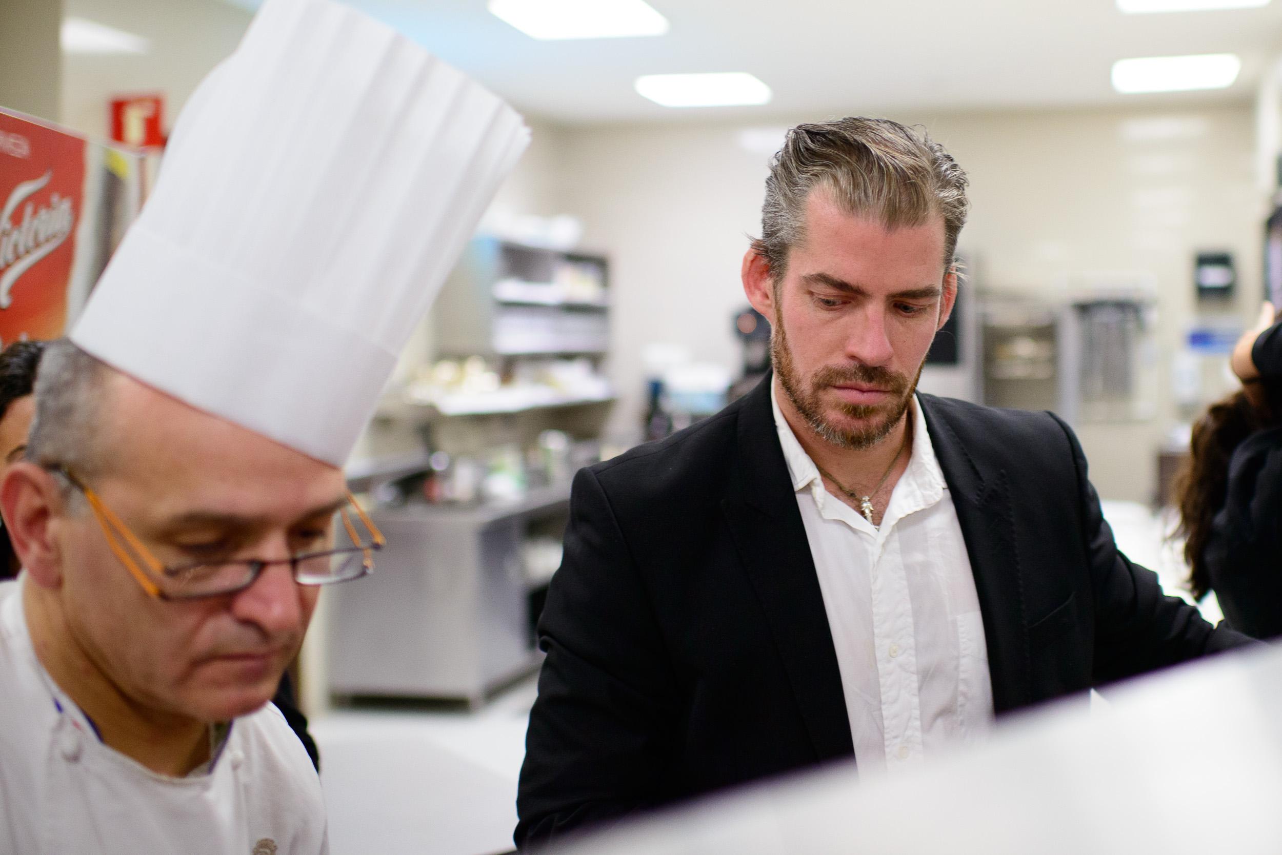 Chef Guy Santoro (St. Regis, DF) and Lars Williams (Nordic Food