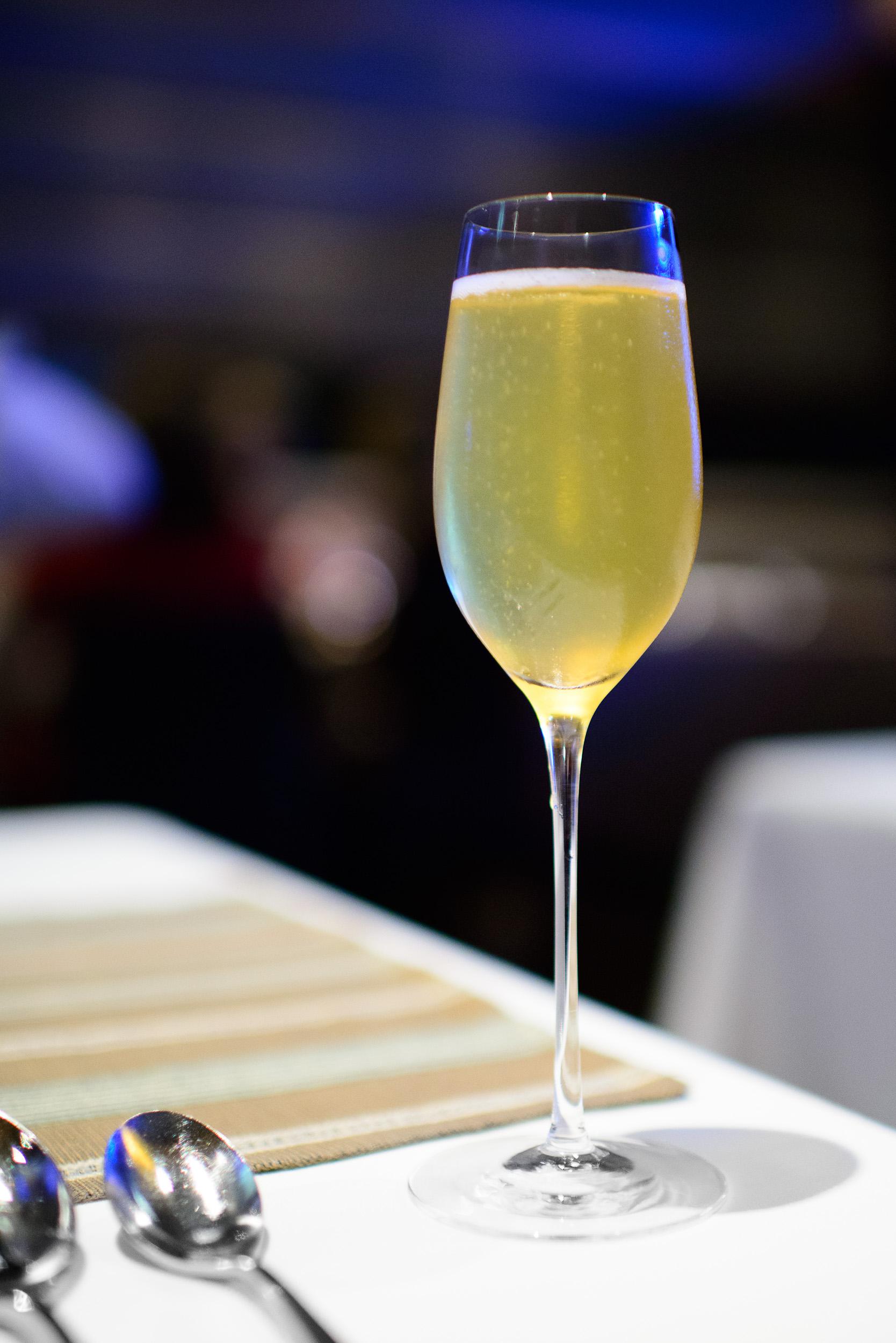 Zardetto prosecco apertivo with taverna amaro and chamomile