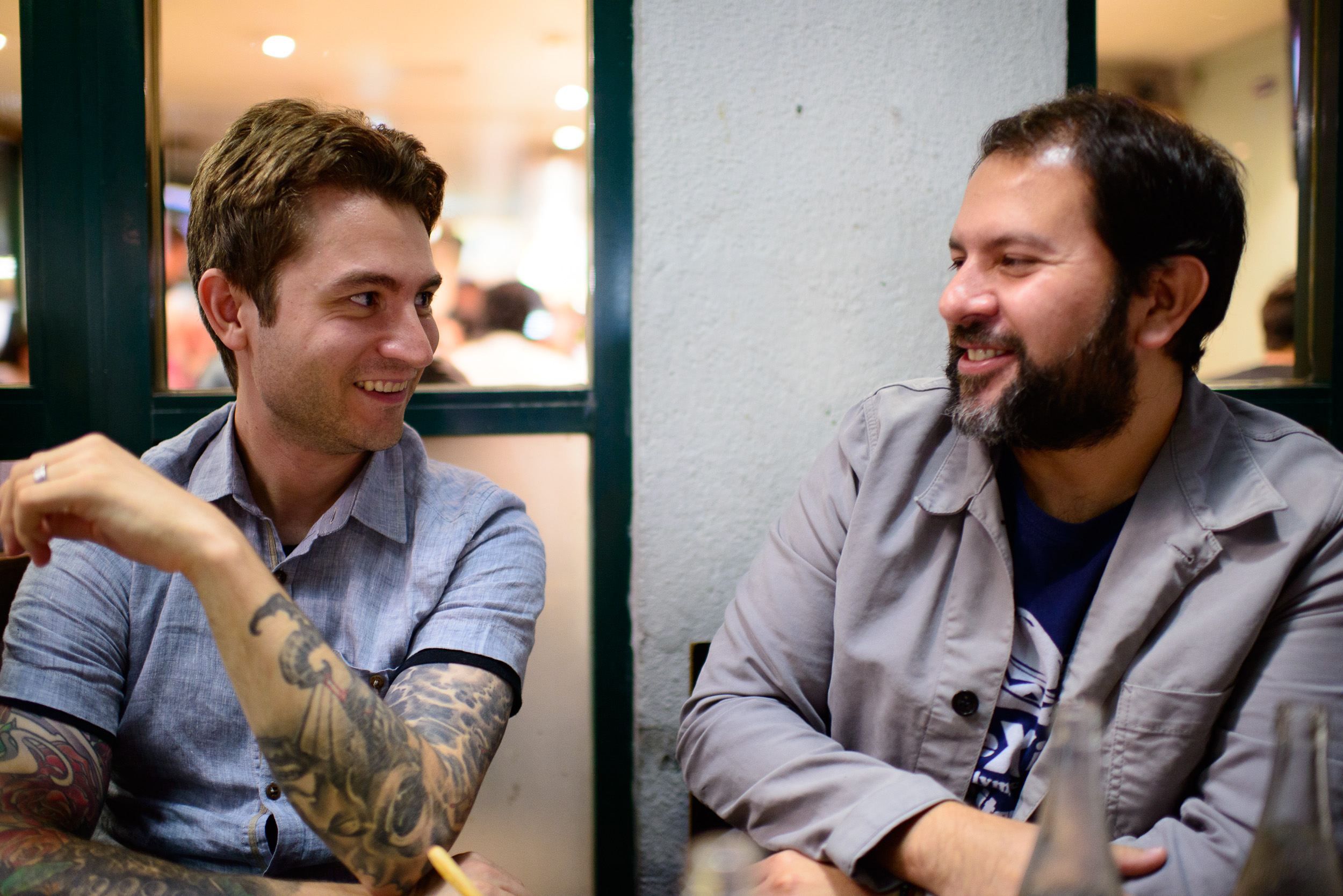 Alex Stupak and Enrique Olvera