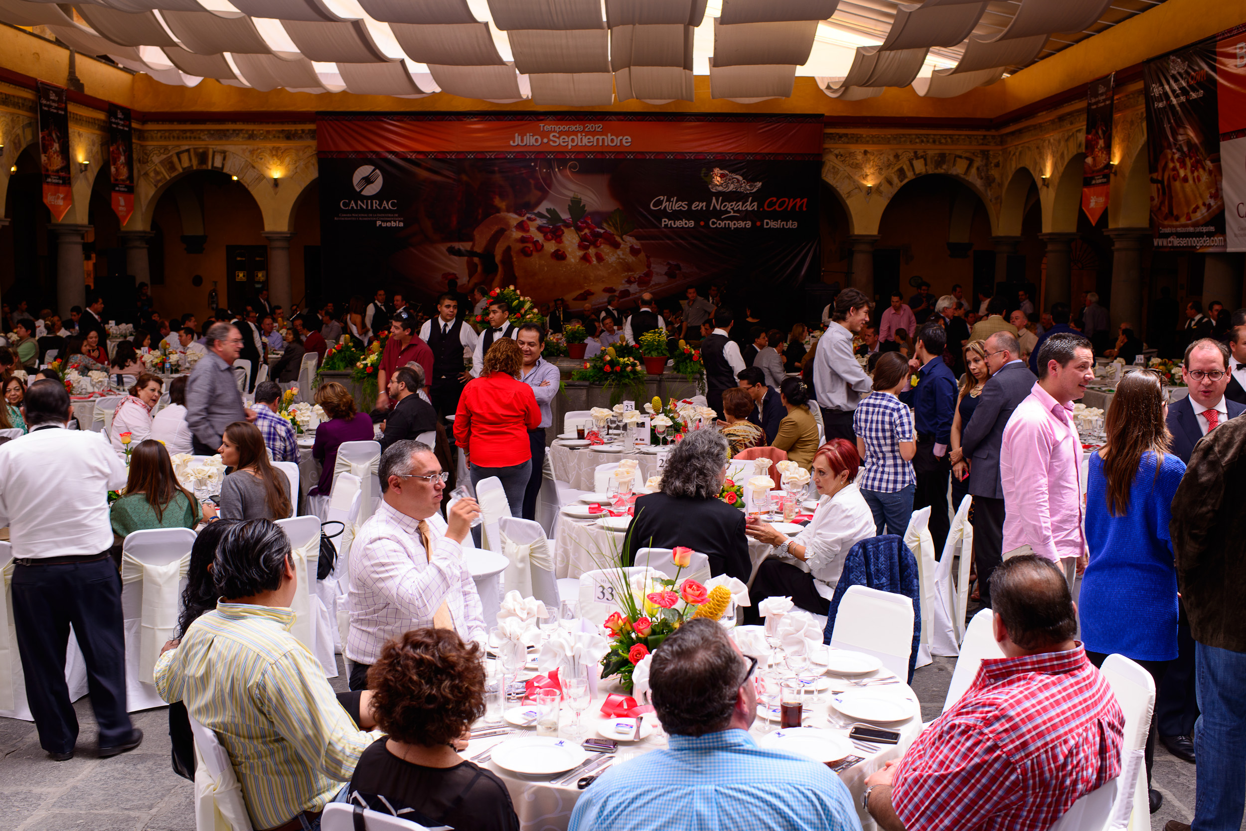 El festival de los chiles en nogada
