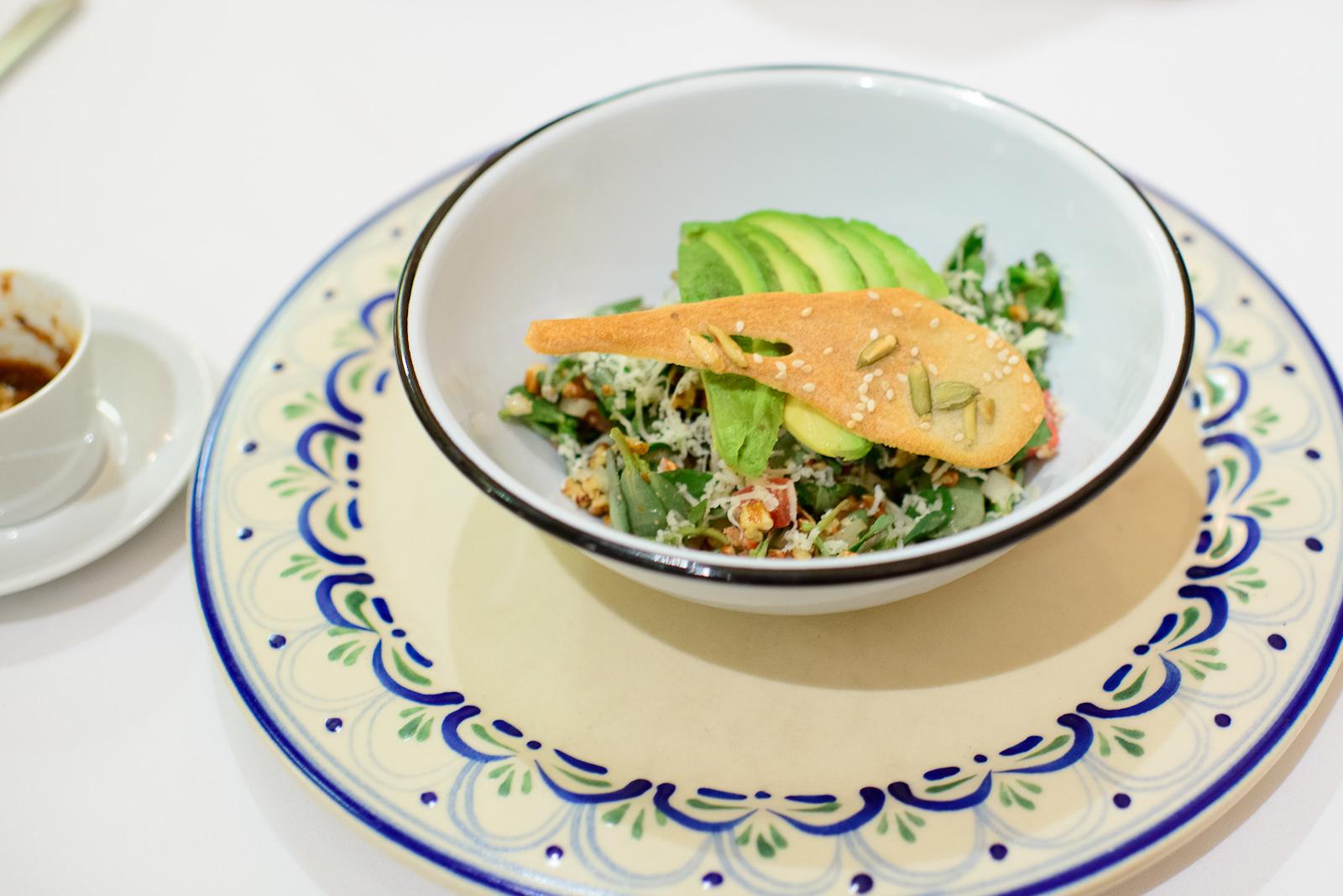 Ensalada de verdolagas (pursalane salad)