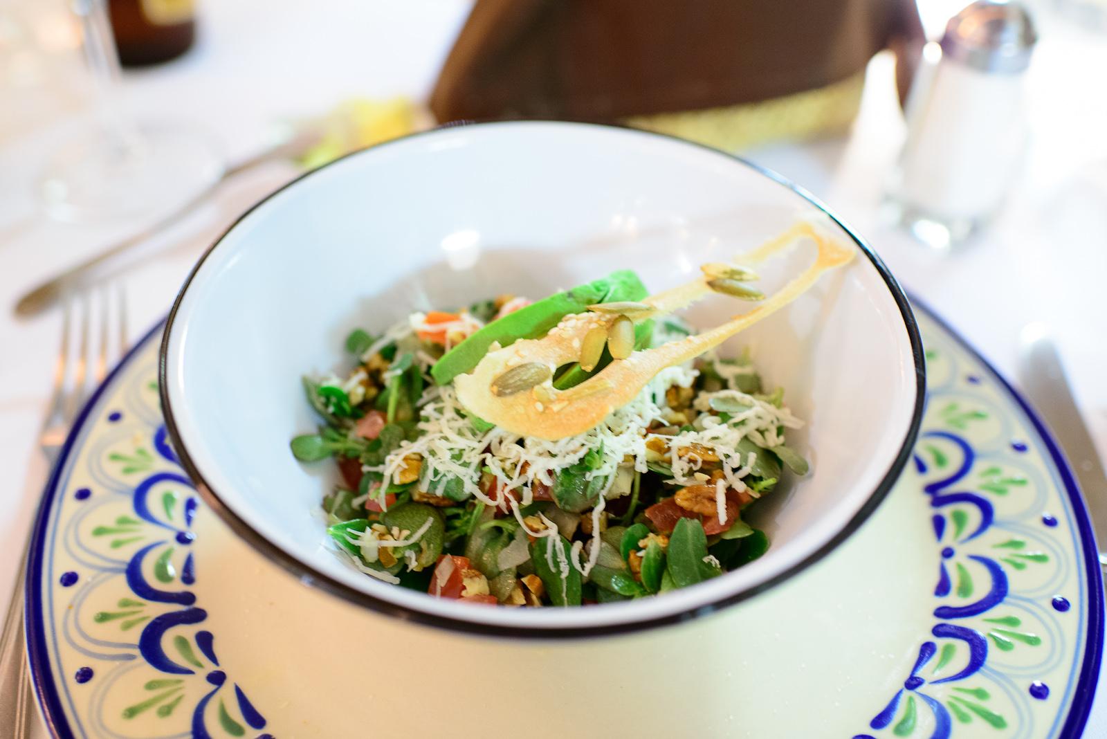 Ensalada de verdolagas - Mezclamos esta deliciosa hierba fresca