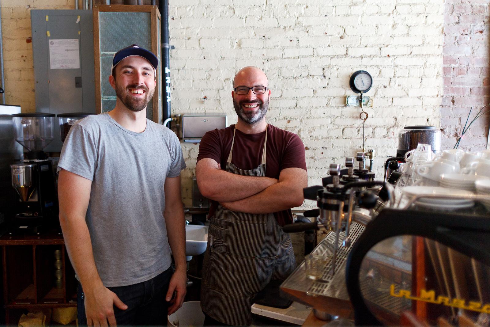 Matt Banbury and Ben Sandler