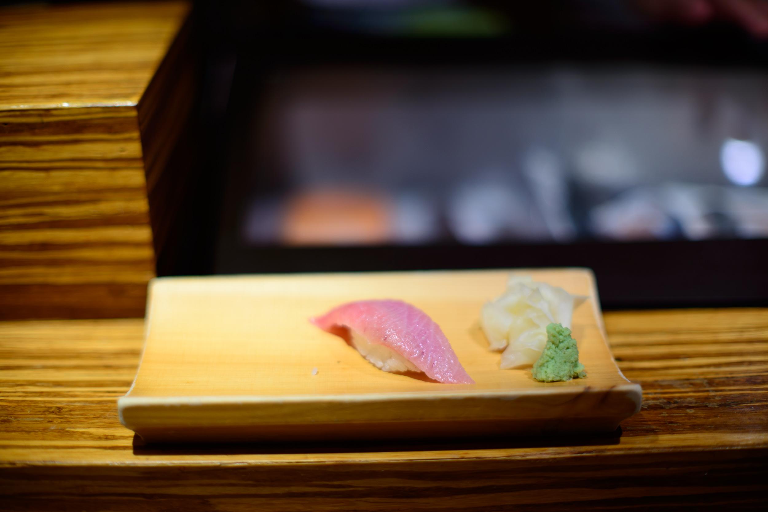 5th Course: Fatty tuna