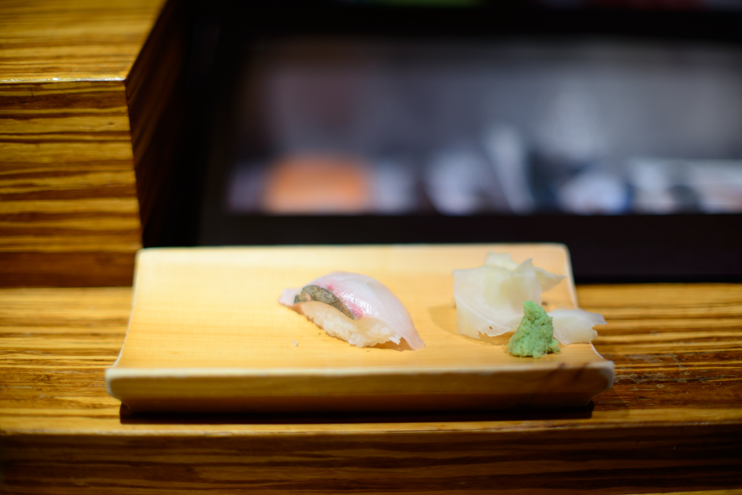 11th Course Japanese jackfish