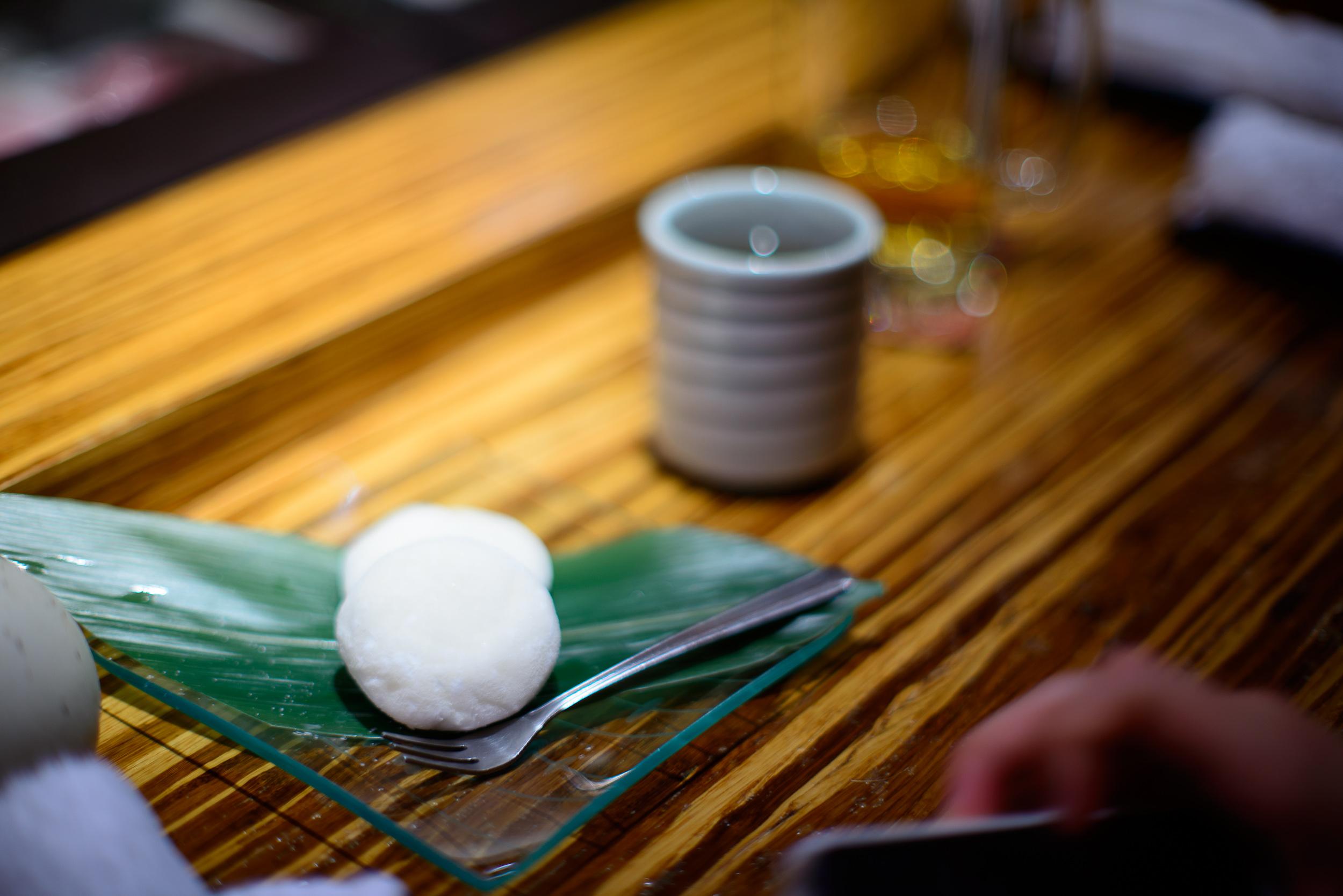 14th Course: Vanilla mochi