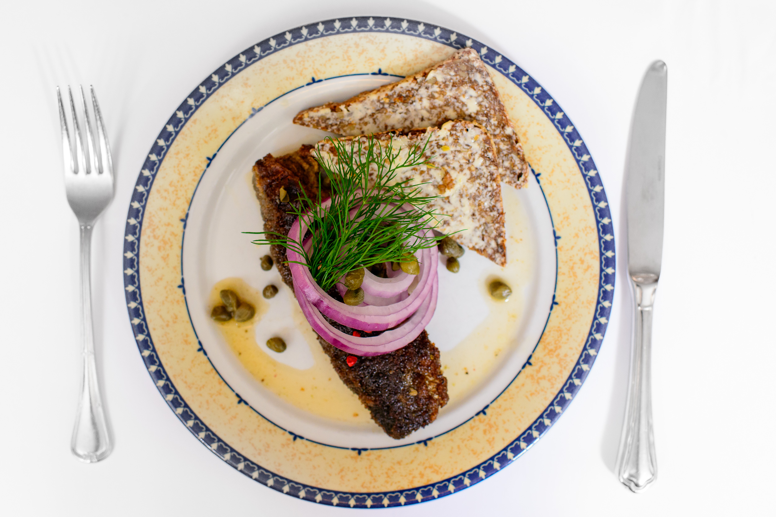Fried Herring in Marinade