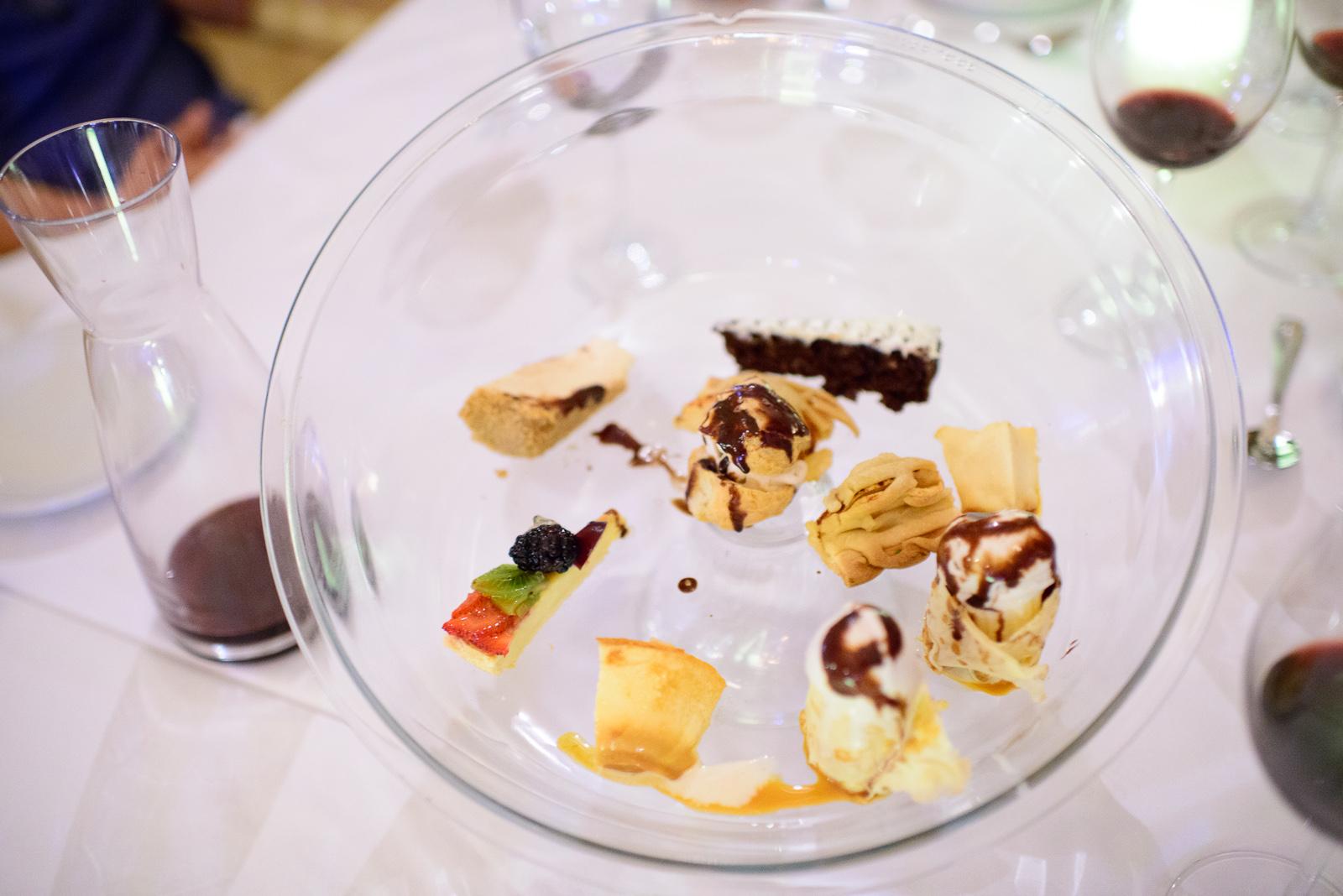 Assortiment of desserts