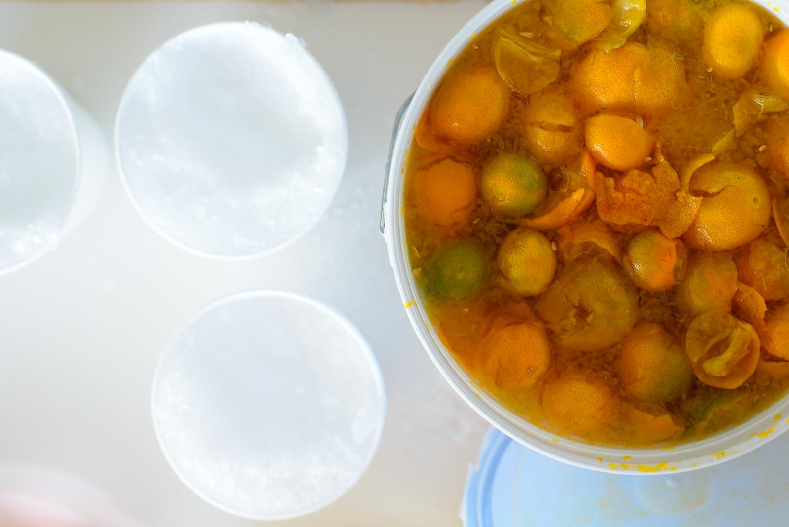 Naranjitas, small bitter oranges