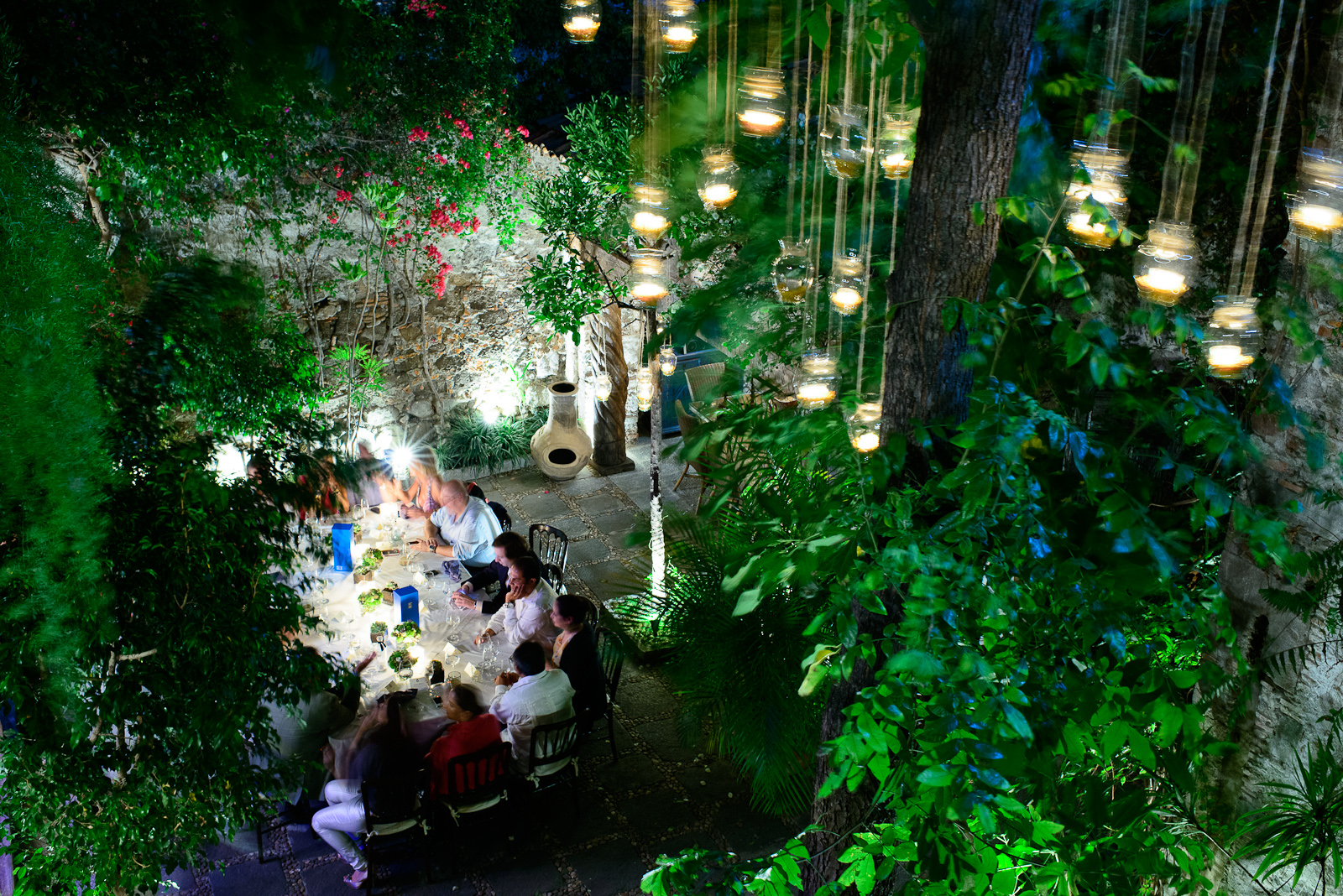 6th Course: A quiet dinner in a 400-year-old estate