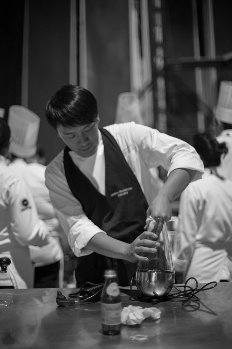 Chef Yoji Tokuyoshi, sous-chef of Osteria Francescana