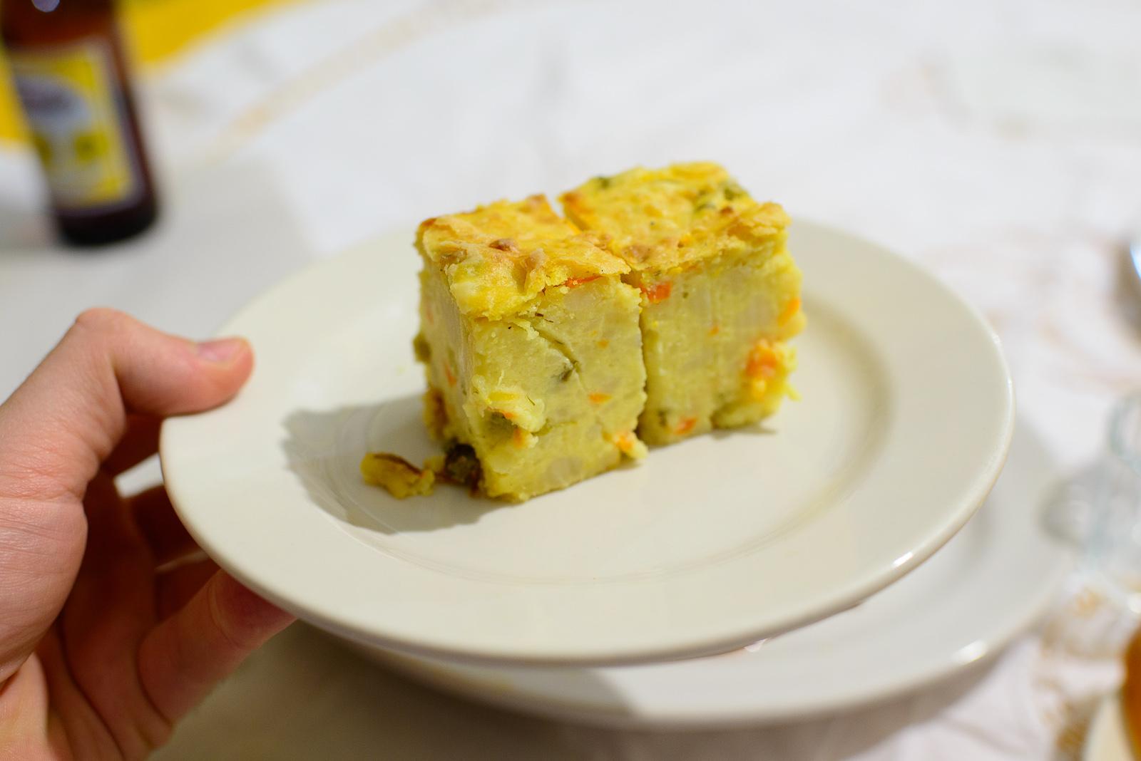 """Purée de papa, estilo Istmeño"" - Potato cakes"