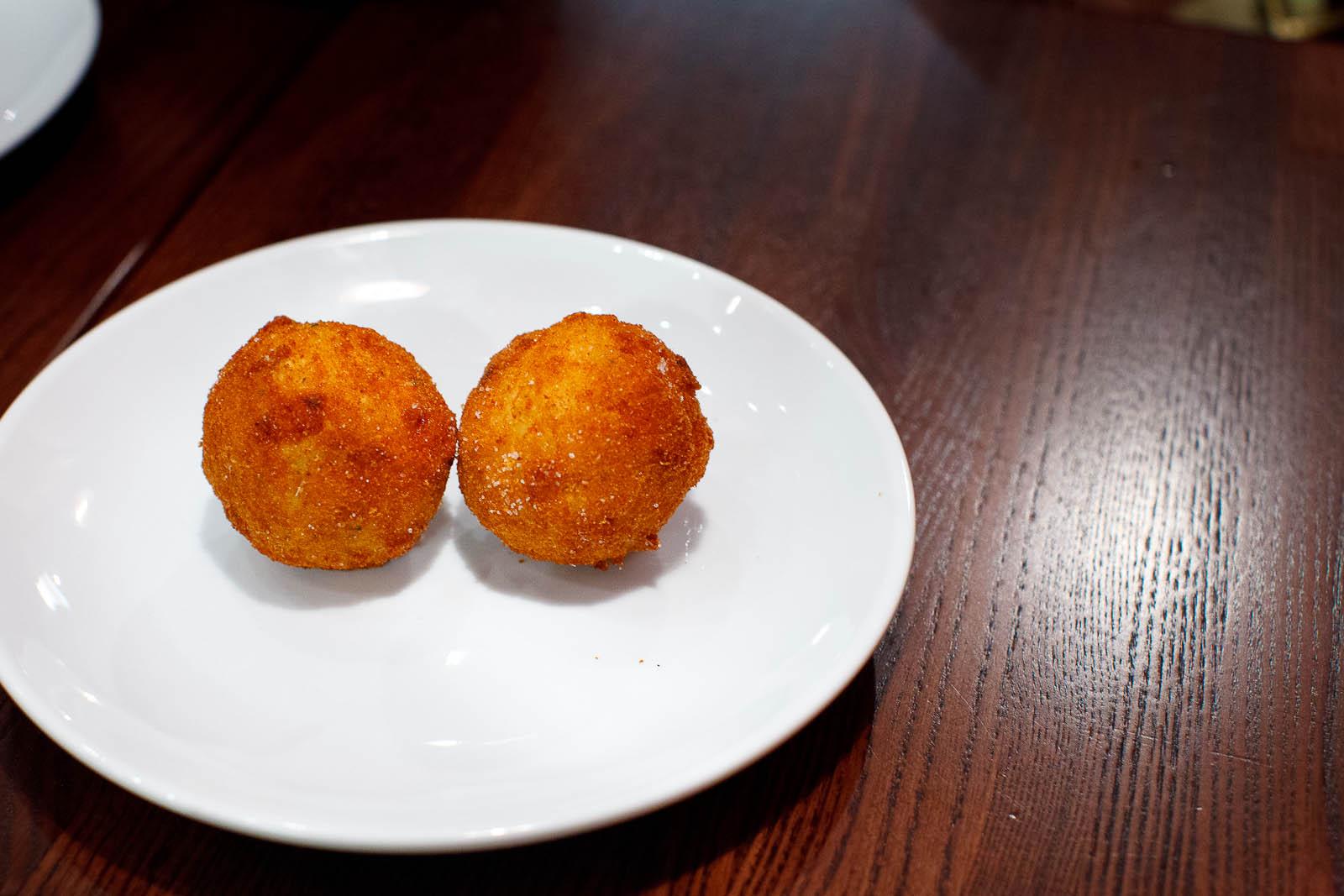 Arancini - the classic Neapolitan rice ball ($2.50 / each)