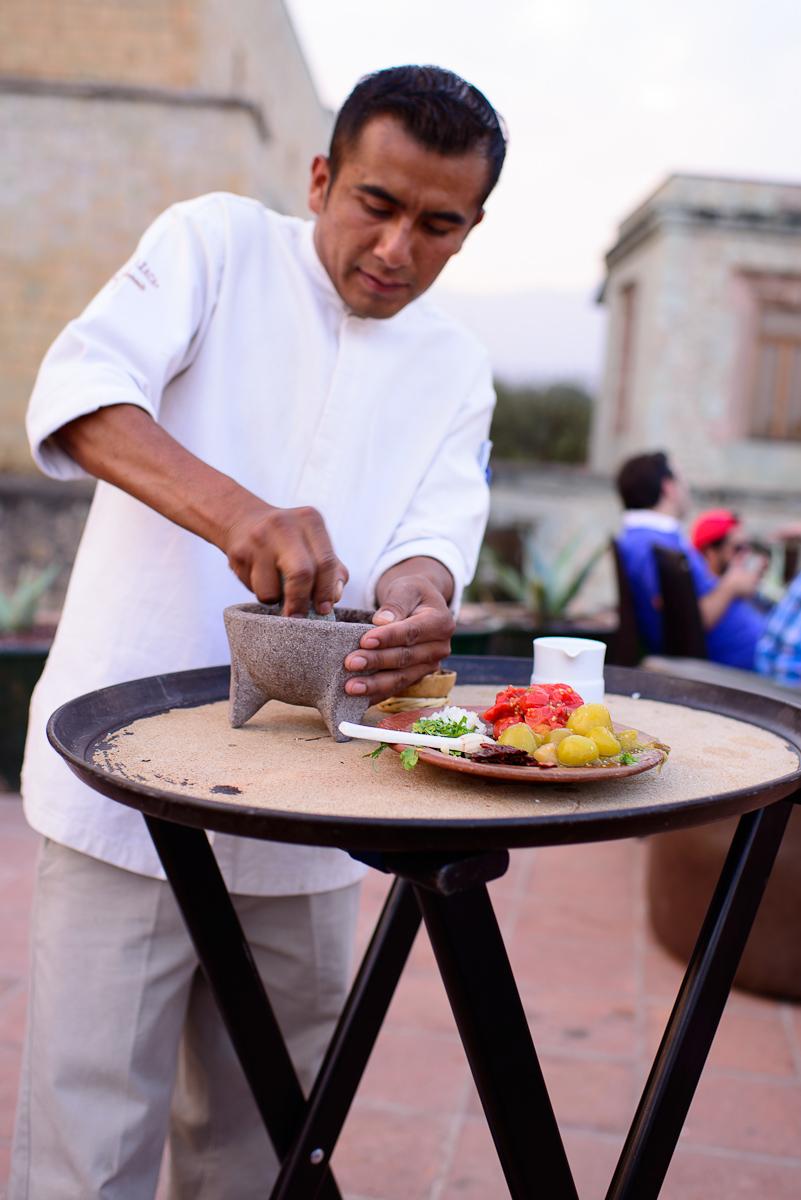 Table-side salsa