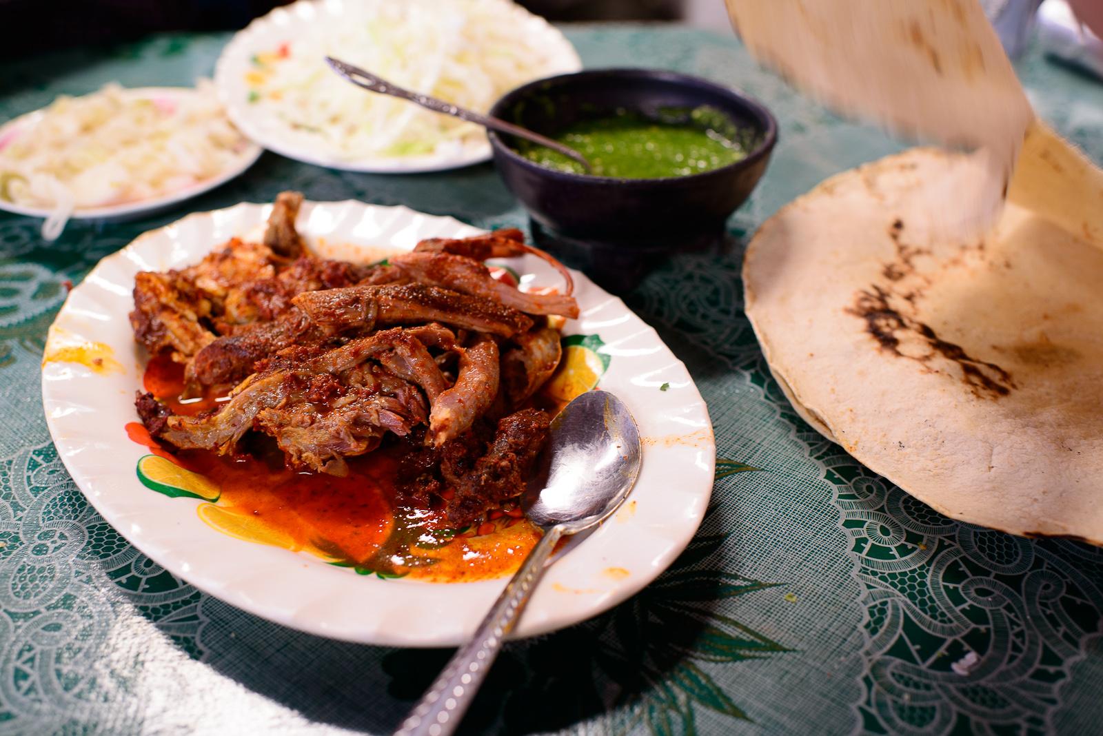 Barbacoa enchilada