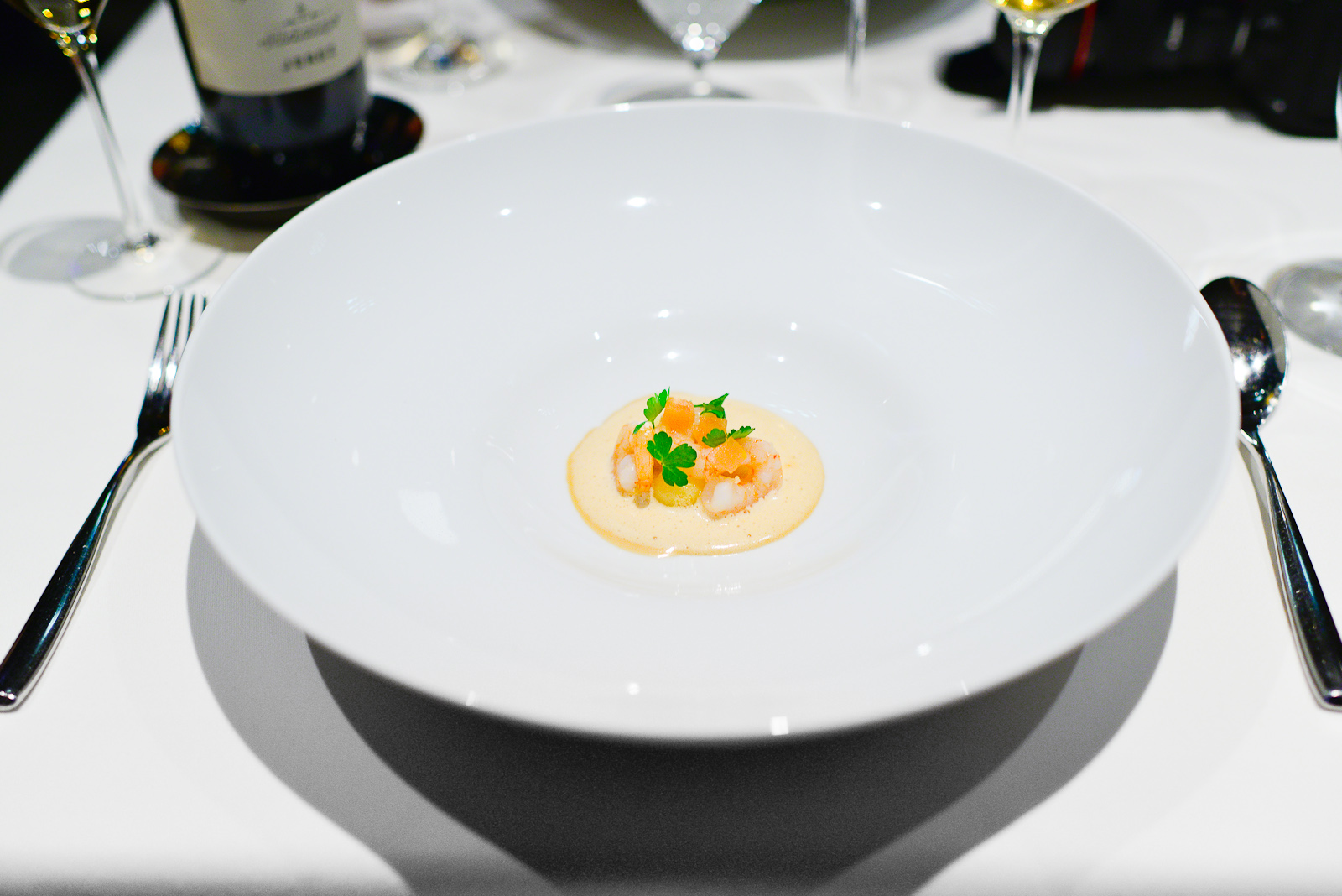 15th Course: 2000 Suquet de gambas (Suquet of prawns)