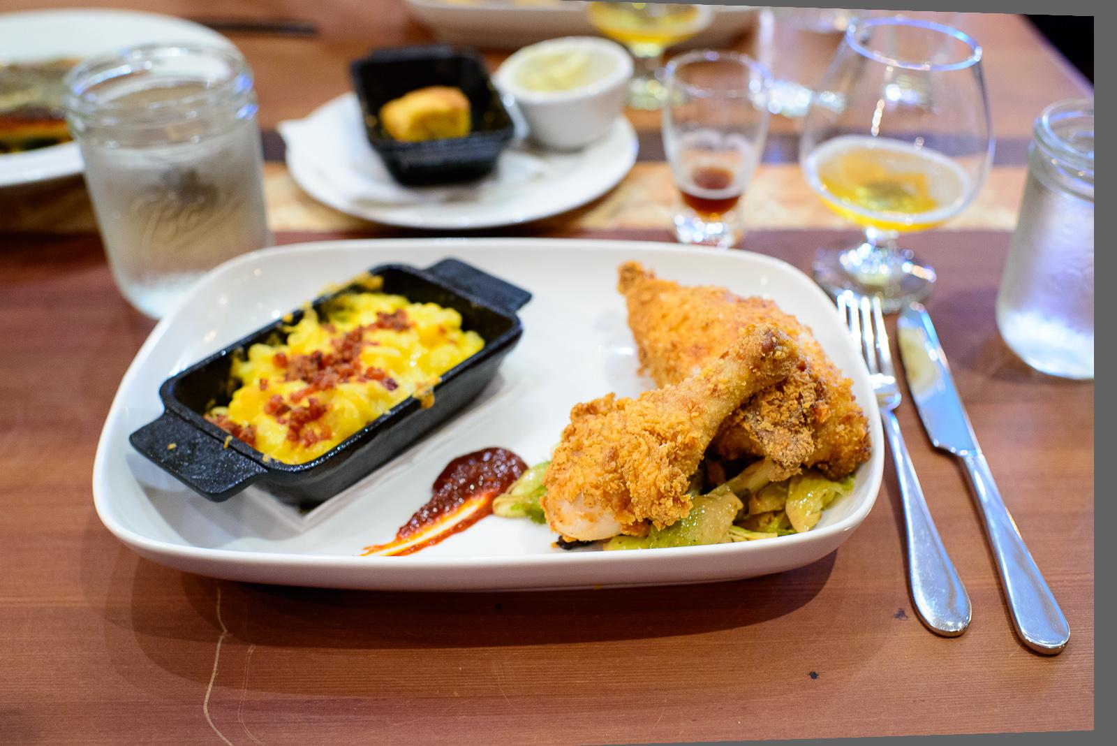 Buttermilk battered chicken - Mary's free-range organic chicken,