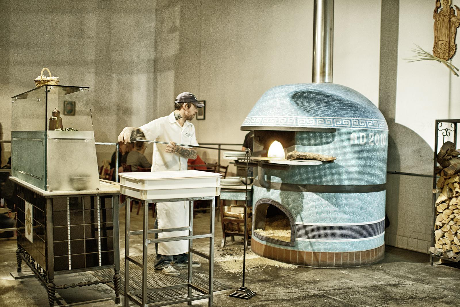 Pizzaiolo Anthony Mangieri