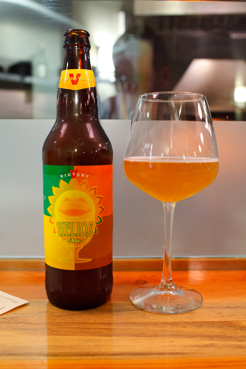 Helios, bottle conditioned saison, victory brewing company, downing town pa ($9)