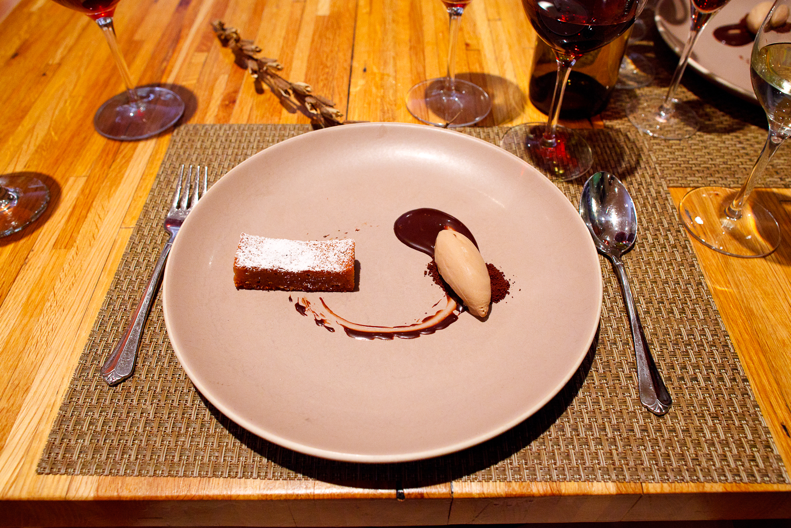 10th Course: Peanut butter pie
