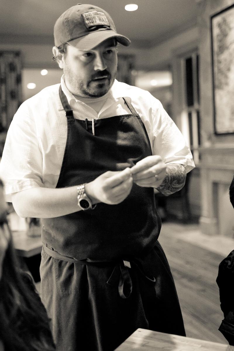 Portrait of Chef Brock